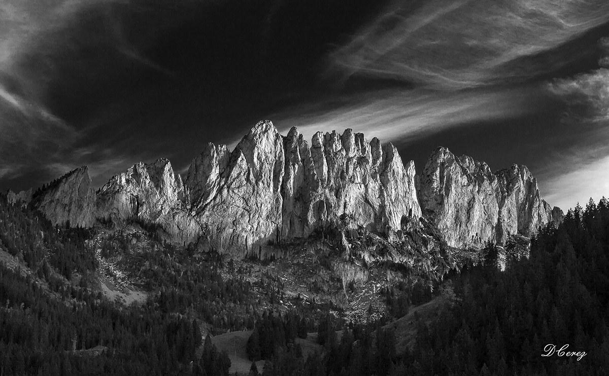 Gastlosen mountains...