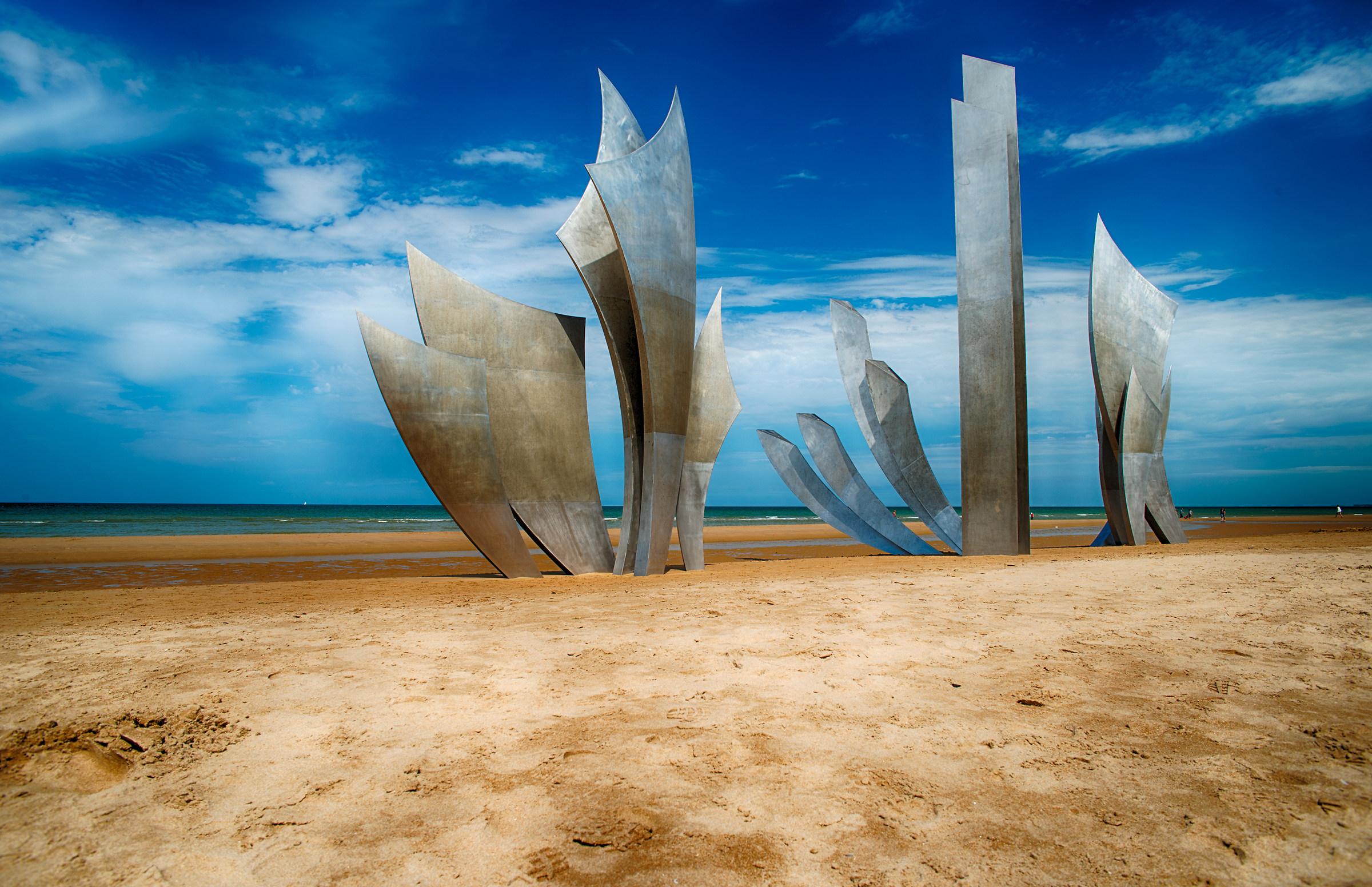 omaha beach...