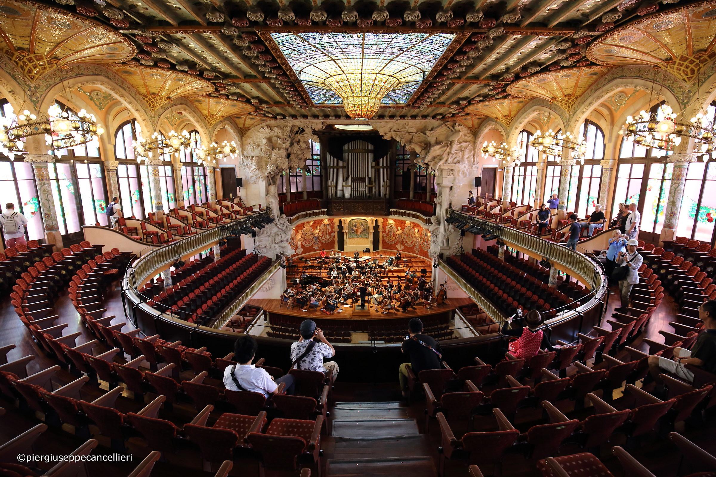 Palau Musica Concert Hall...