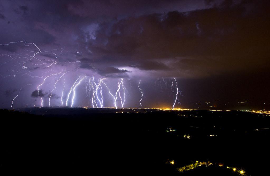 valdarno lightning storm....