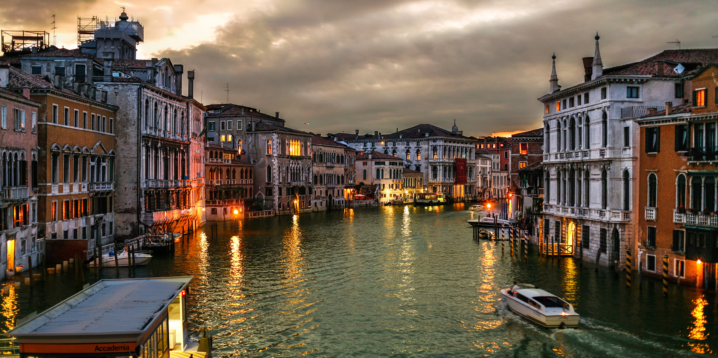 Grand Canal at sunset...