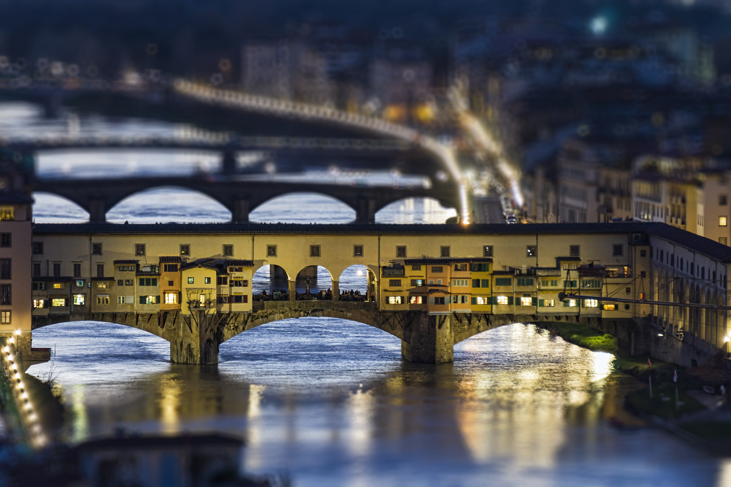 Tiny little Ponte Vecchio...