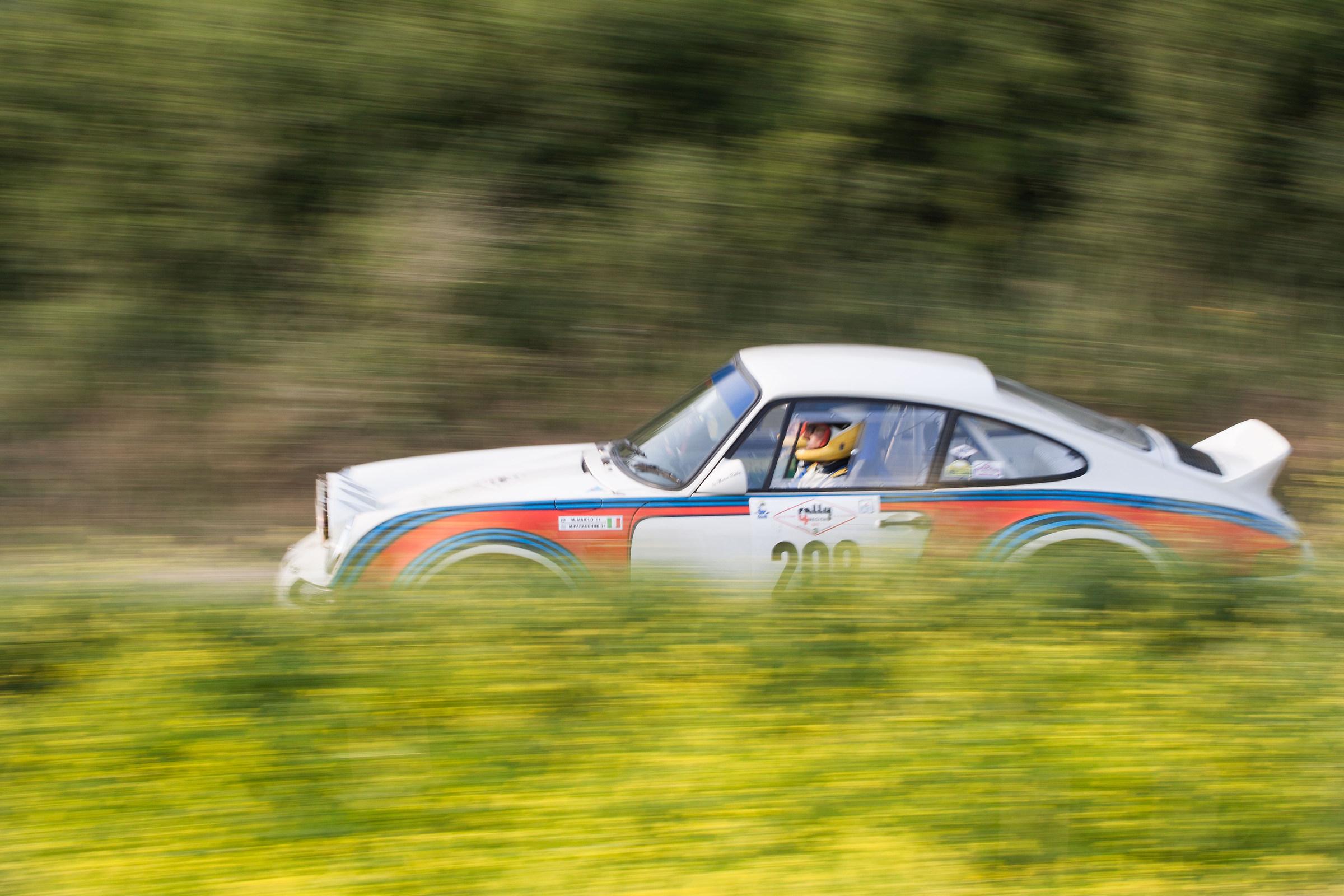 Porsche-panning...