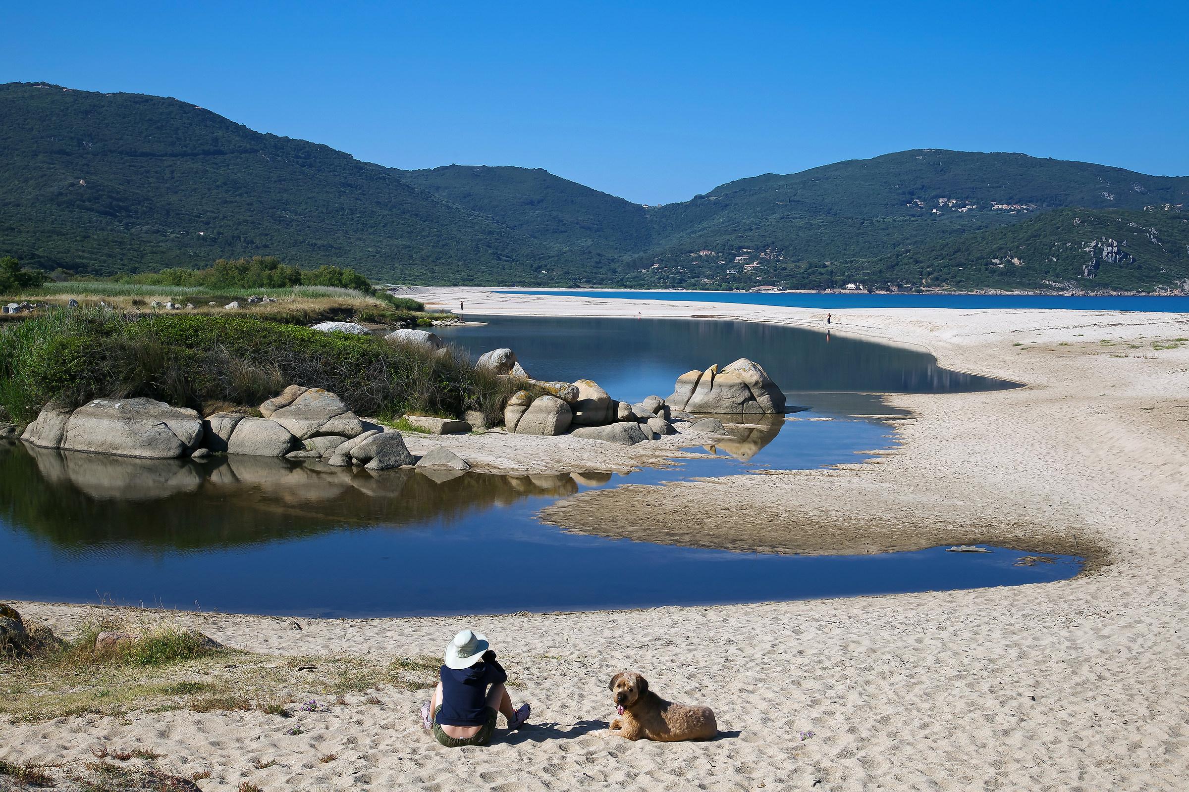 a beautiful beach ......