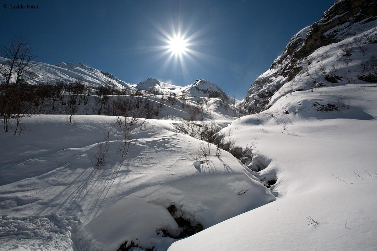 Controluce in Val Varaita (Piemonte)...