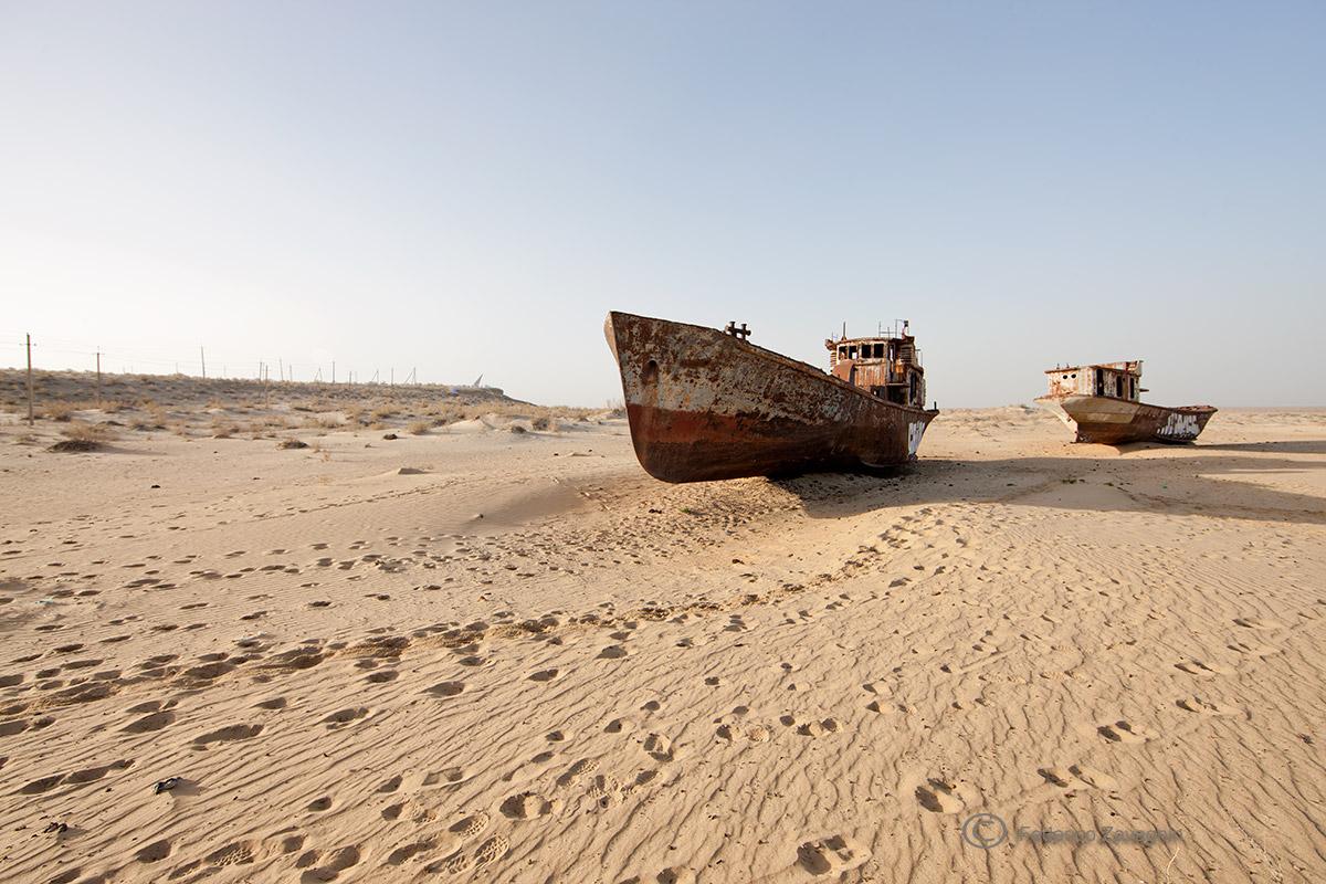 Aral Sea...