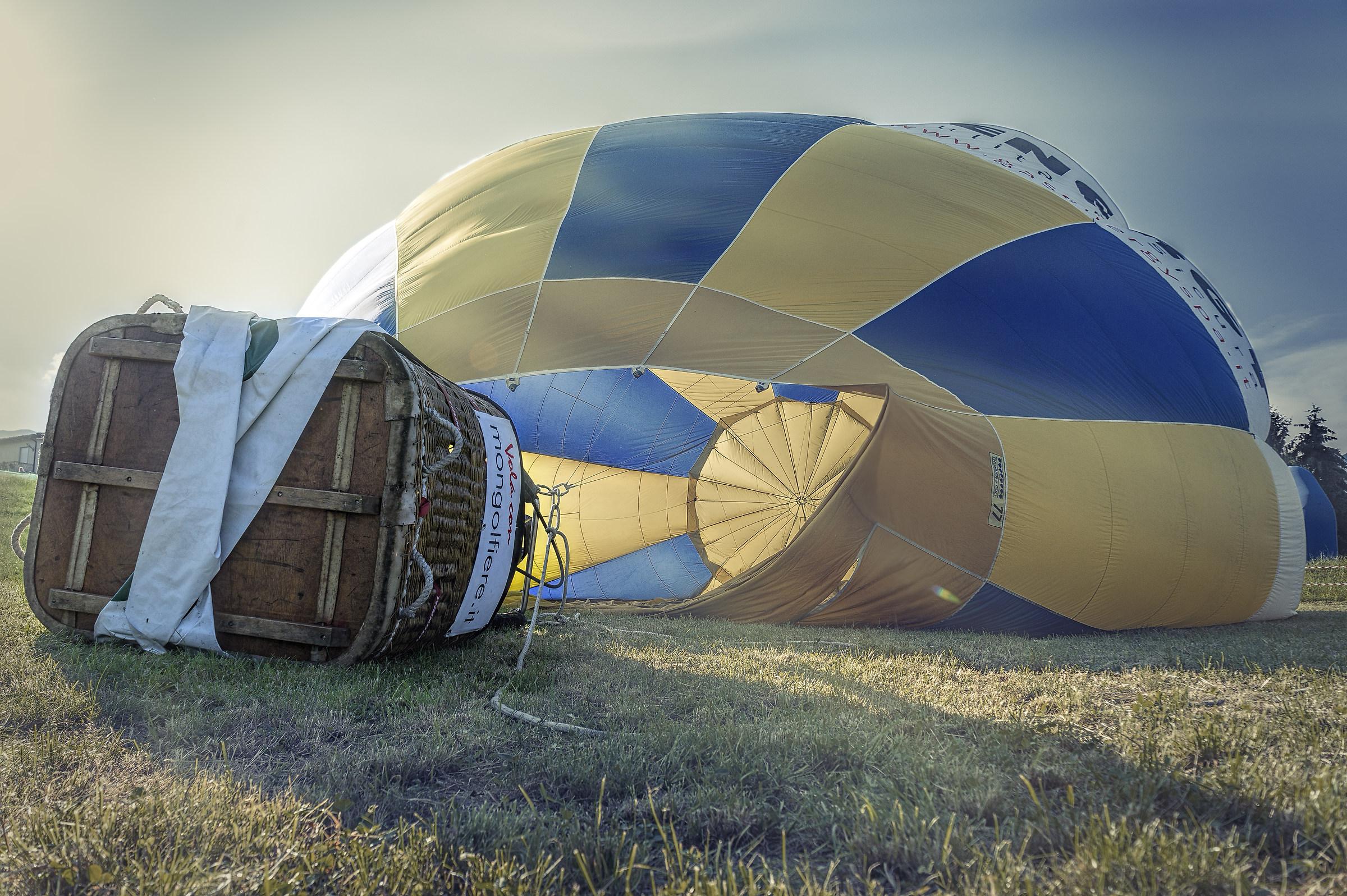 Balloon beached...