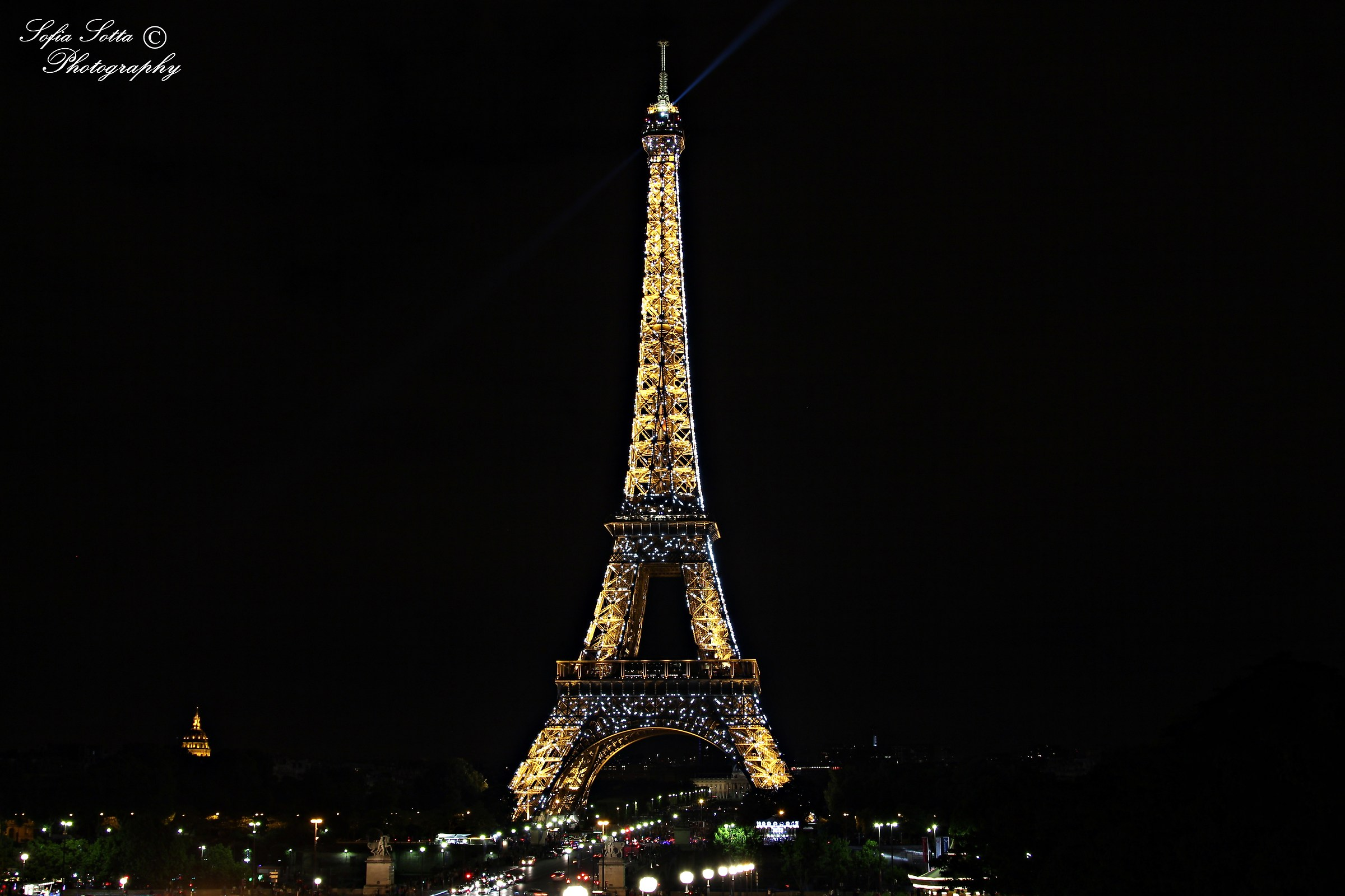 Midnight in Paris...