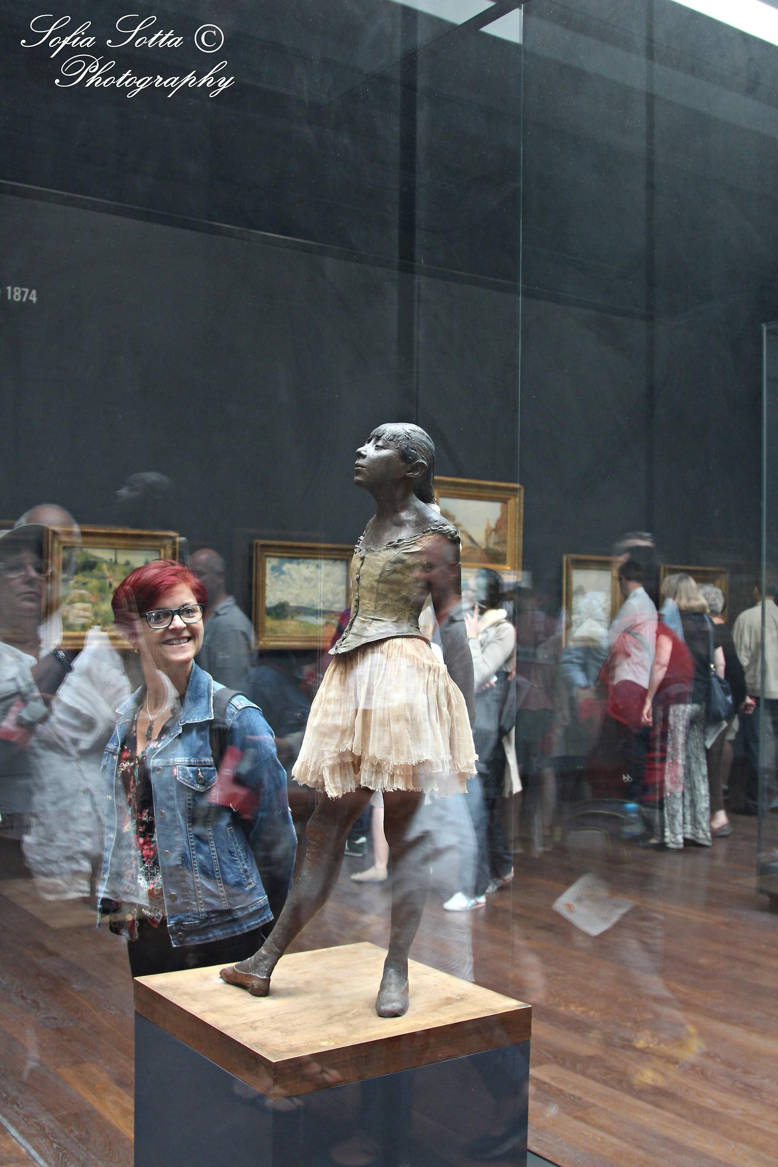 Petite danseuse de quatorze ans with lady...
