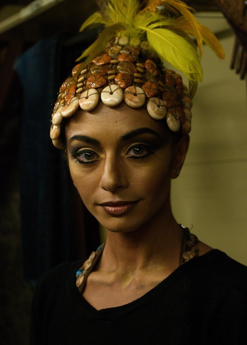"African atmosphere .. Opera ""Aida"" in Arena...."