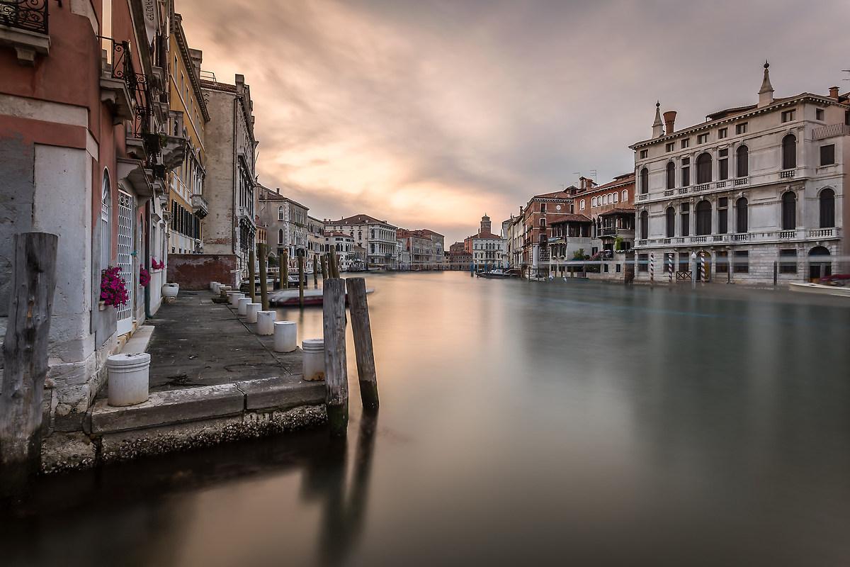 Canal Grande al (quasi) tramonto...