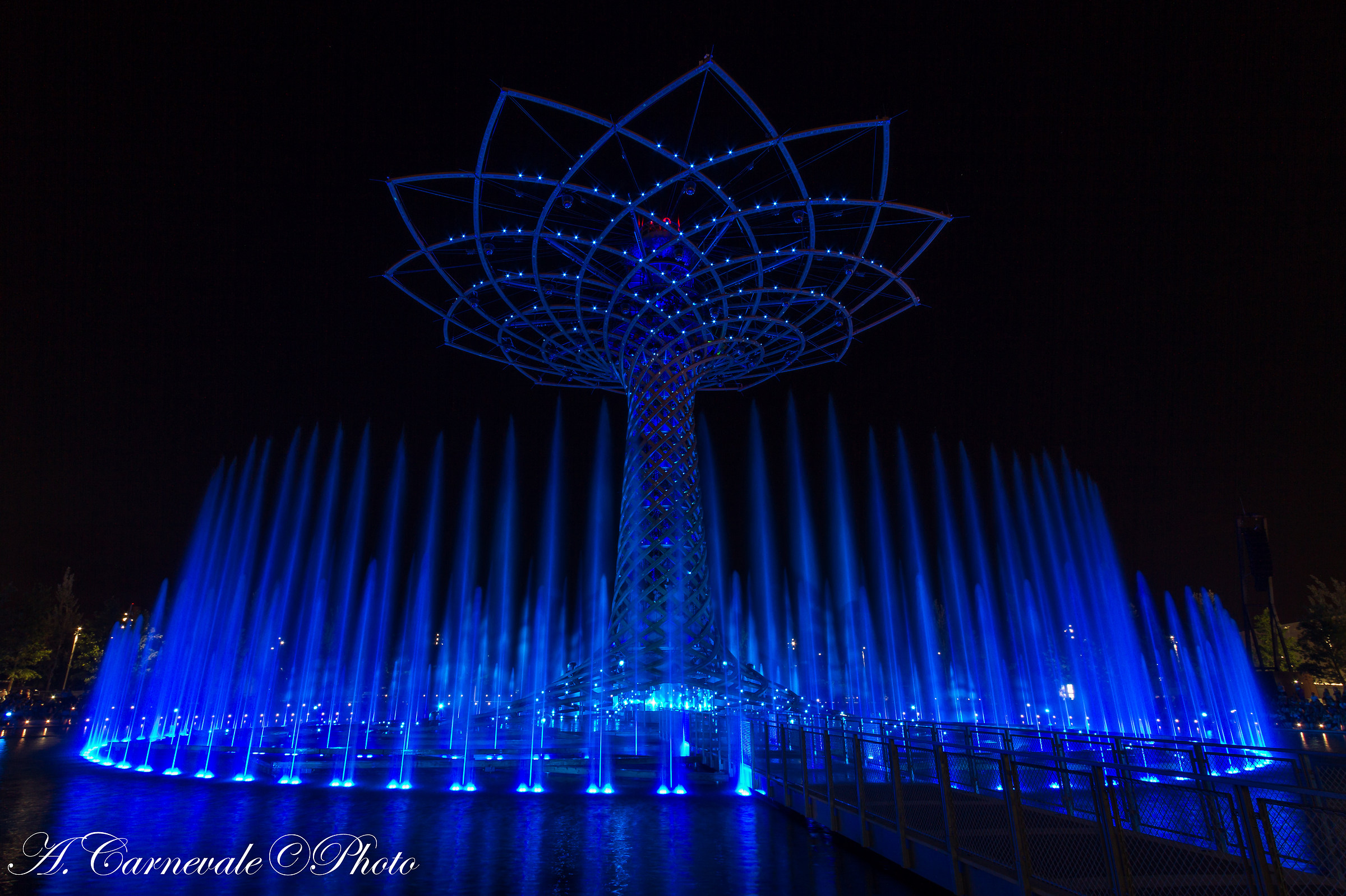 Expo Milano 2015 Tree of Life...