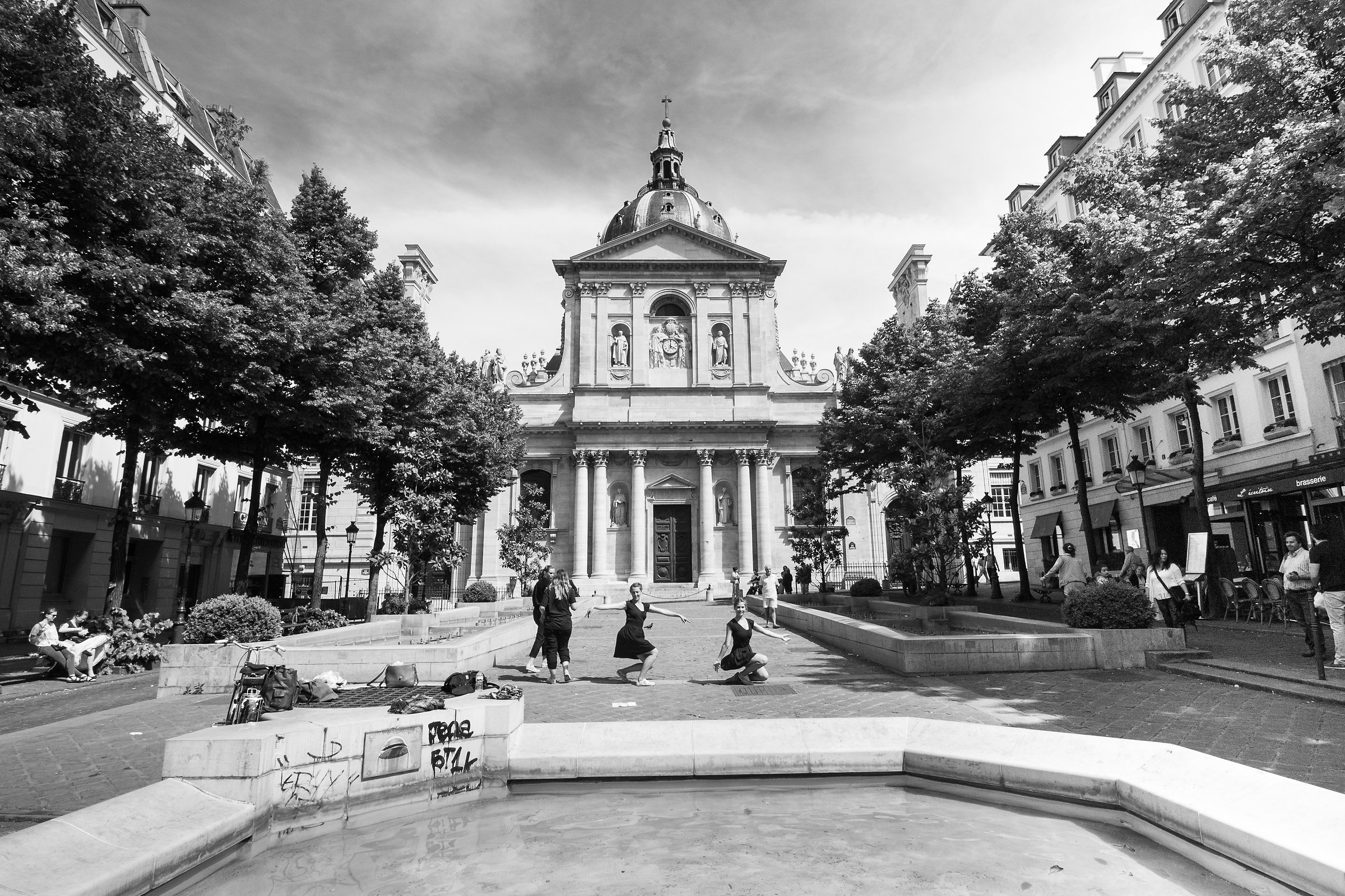 The Sorbonne...