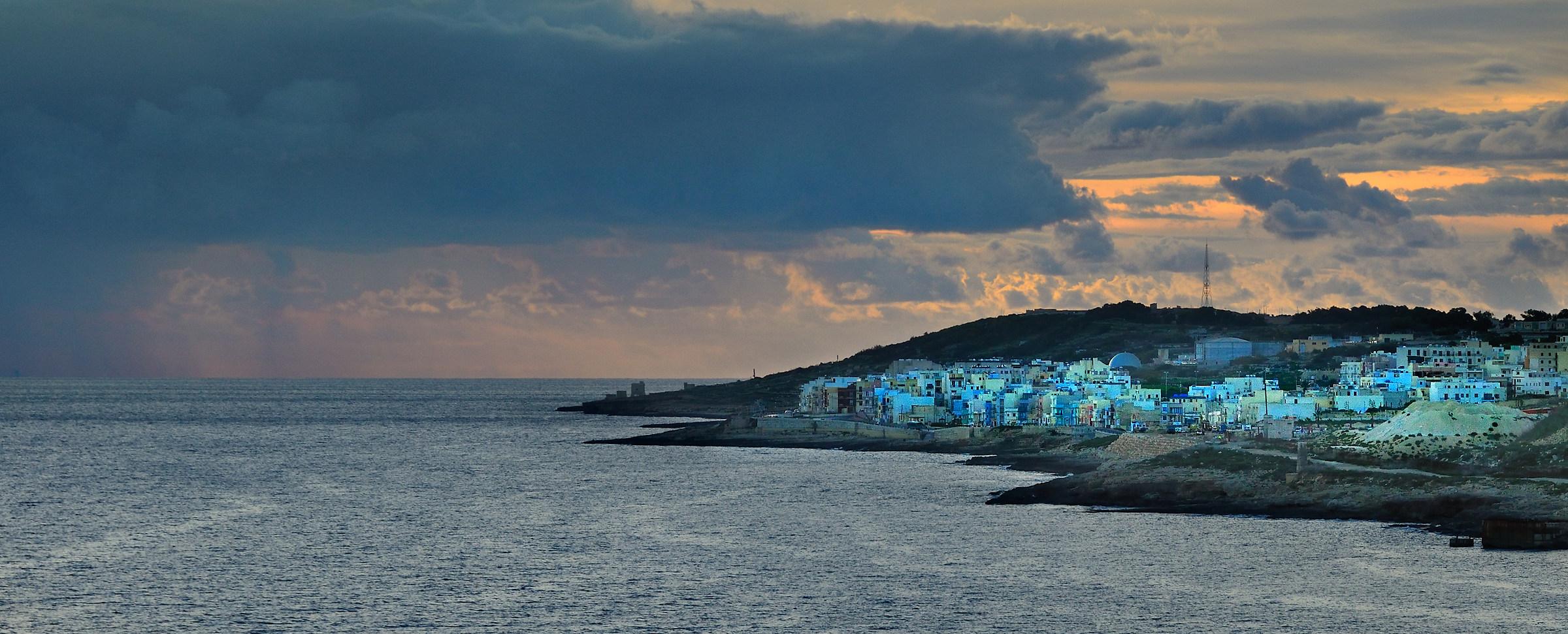 Dawn in Malta...