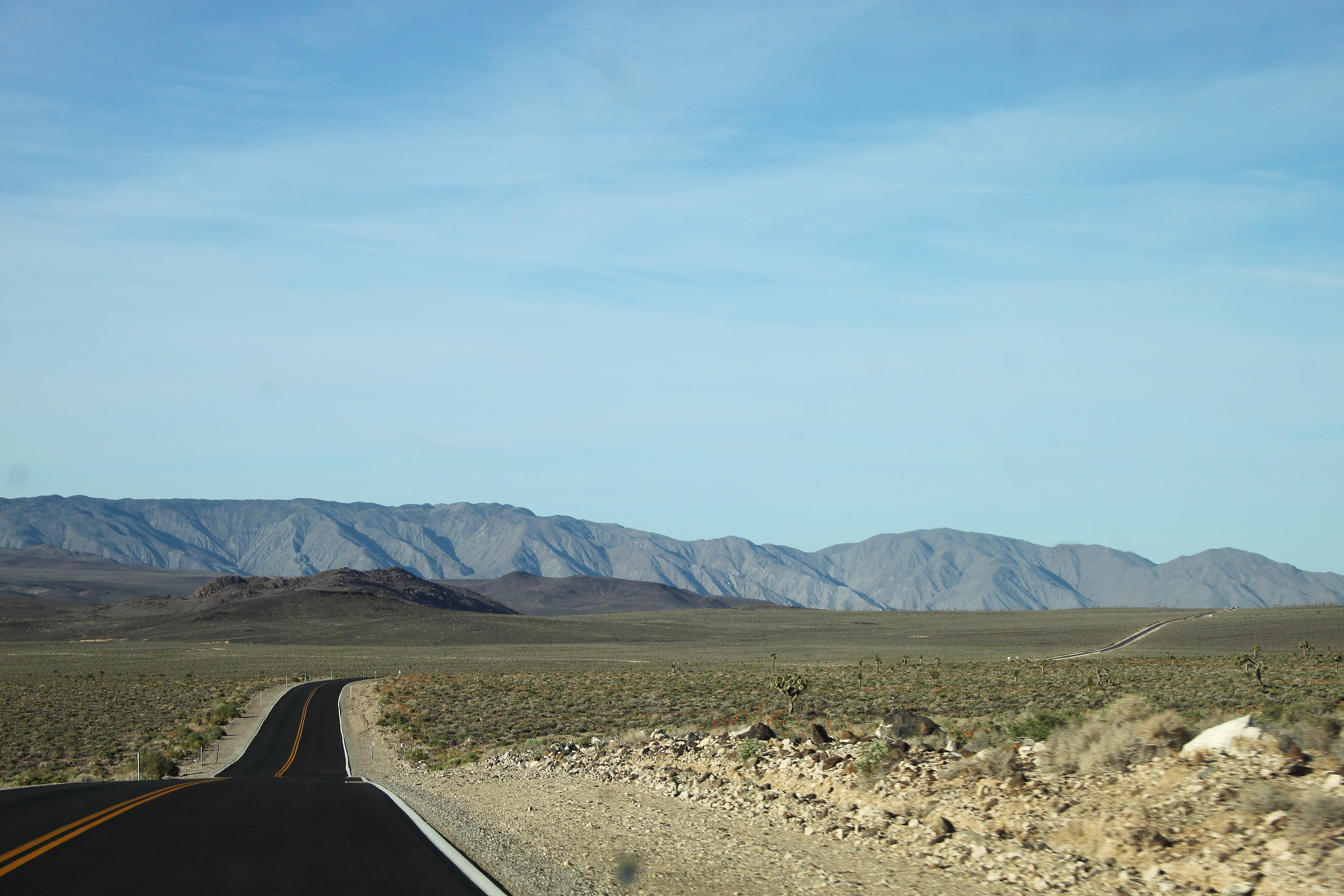 Death Valley Road...