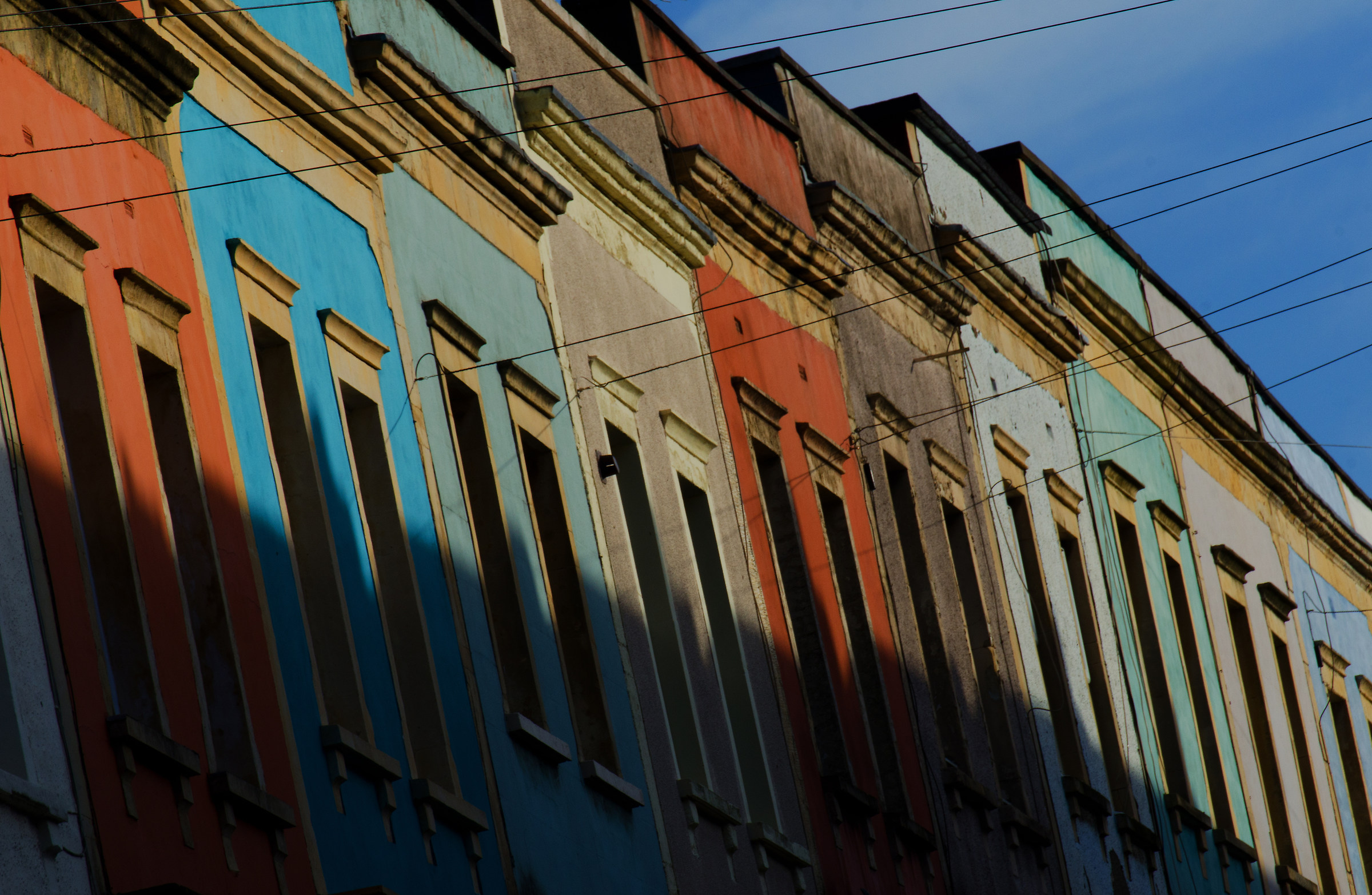 Bristol's Colourful Terraces...