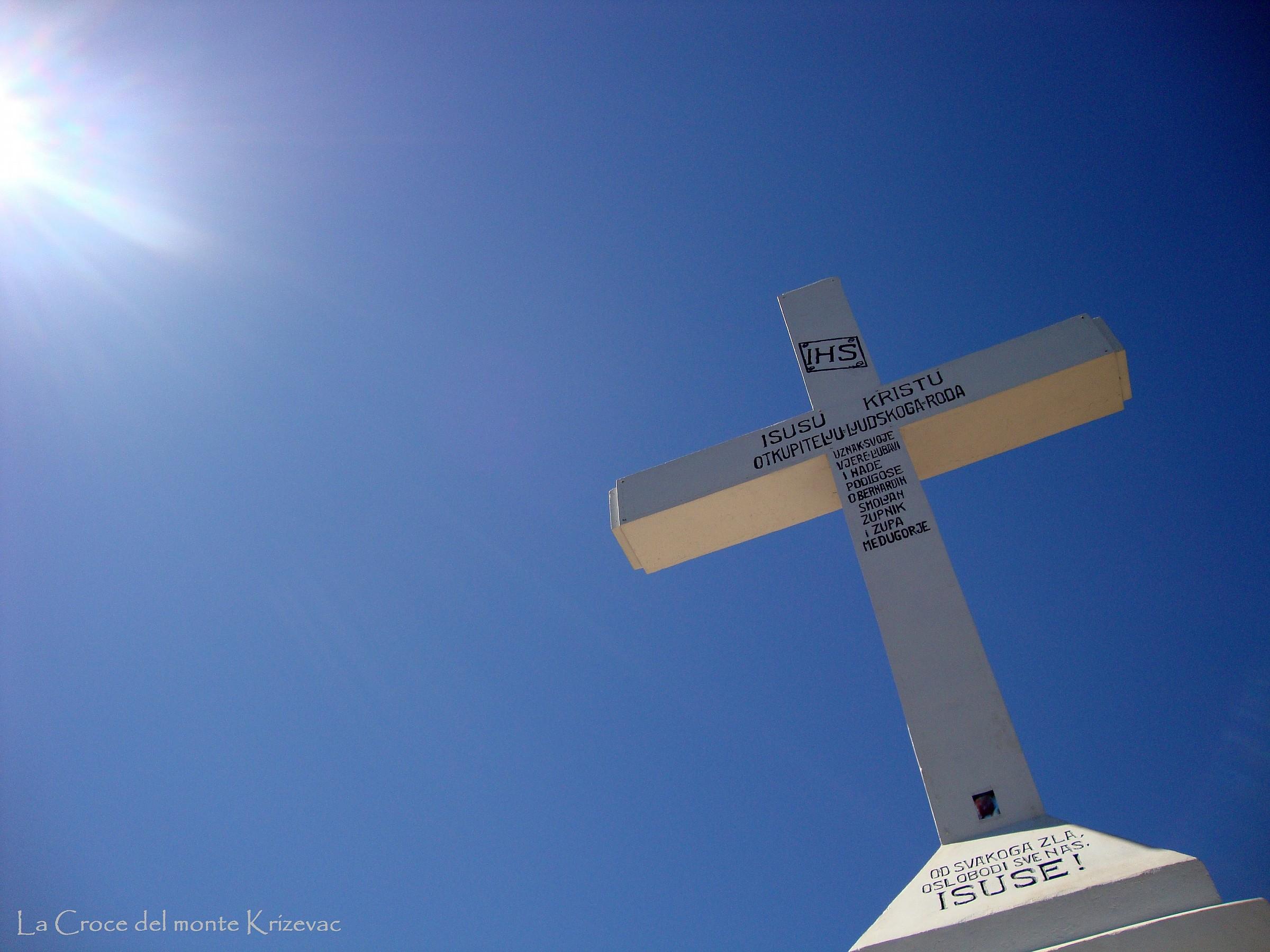 Medjugorje - Cross on Cross Mountain...