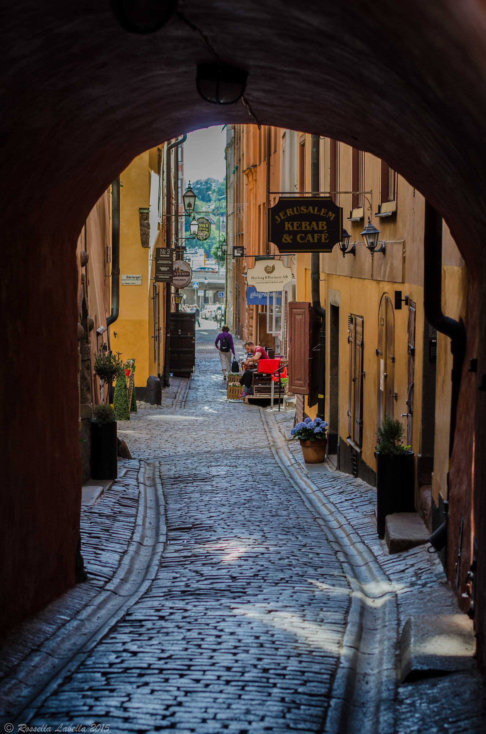 Stockholm street...