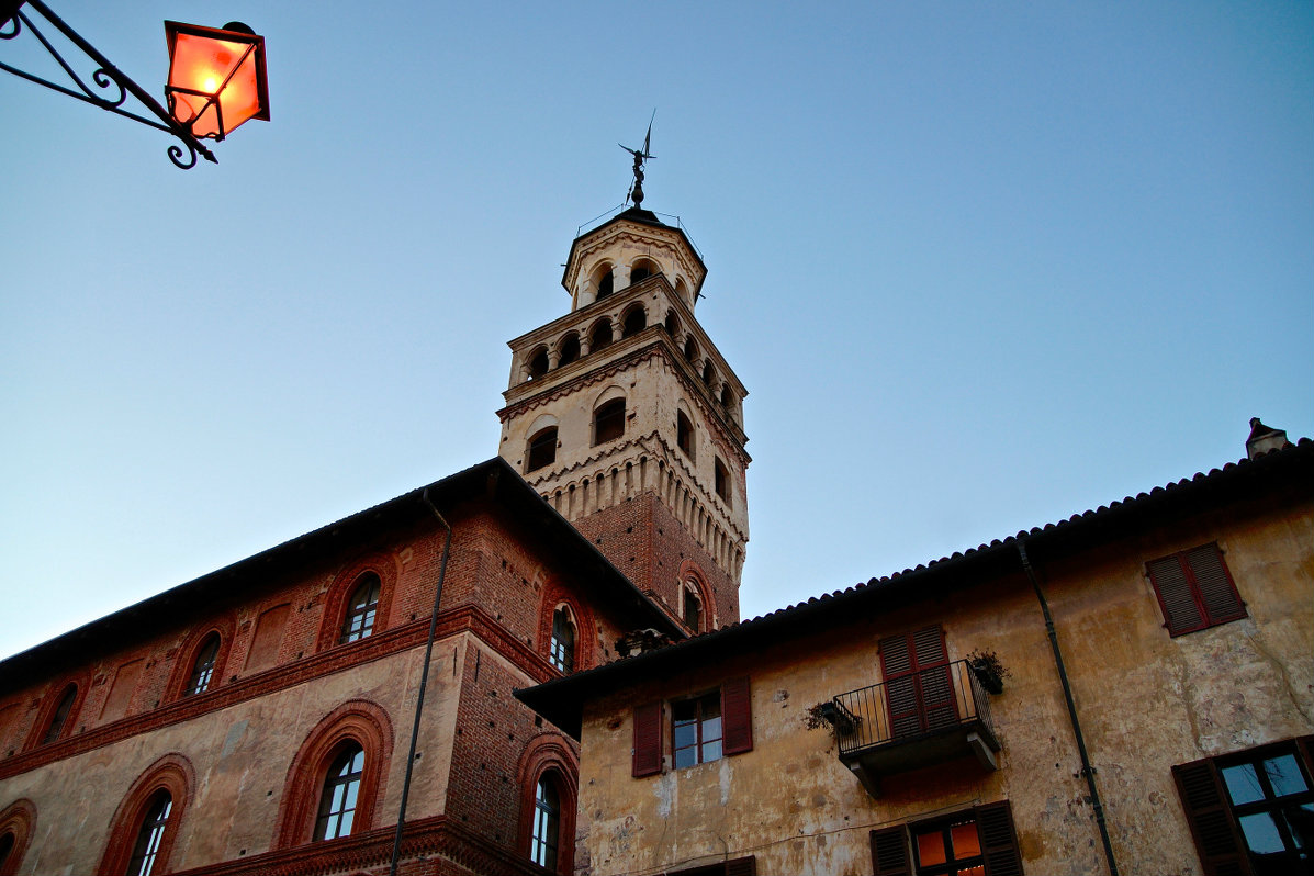 The Civic Tower of Saluzzo...