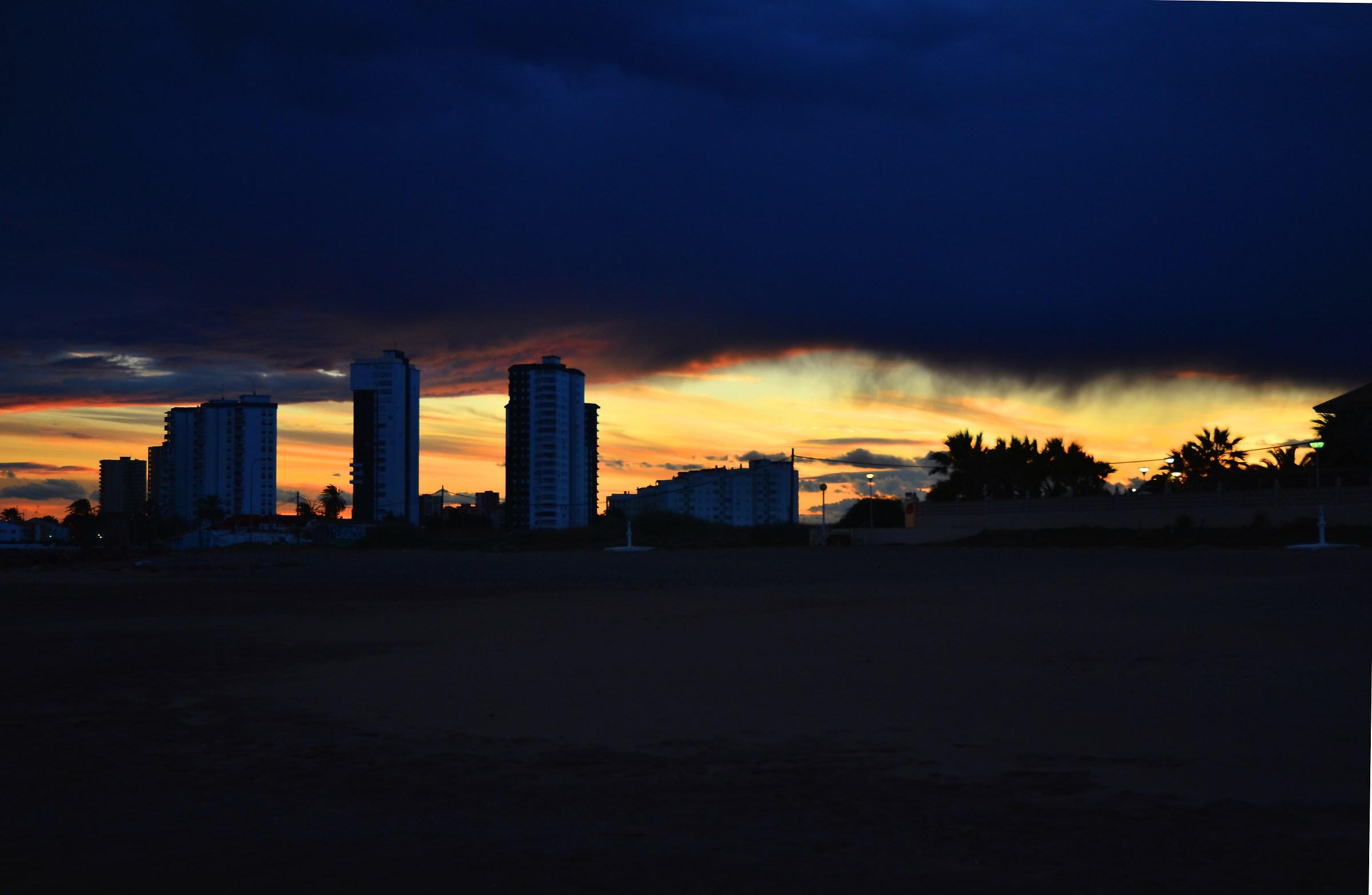 Il cielo sopra Valencia...
