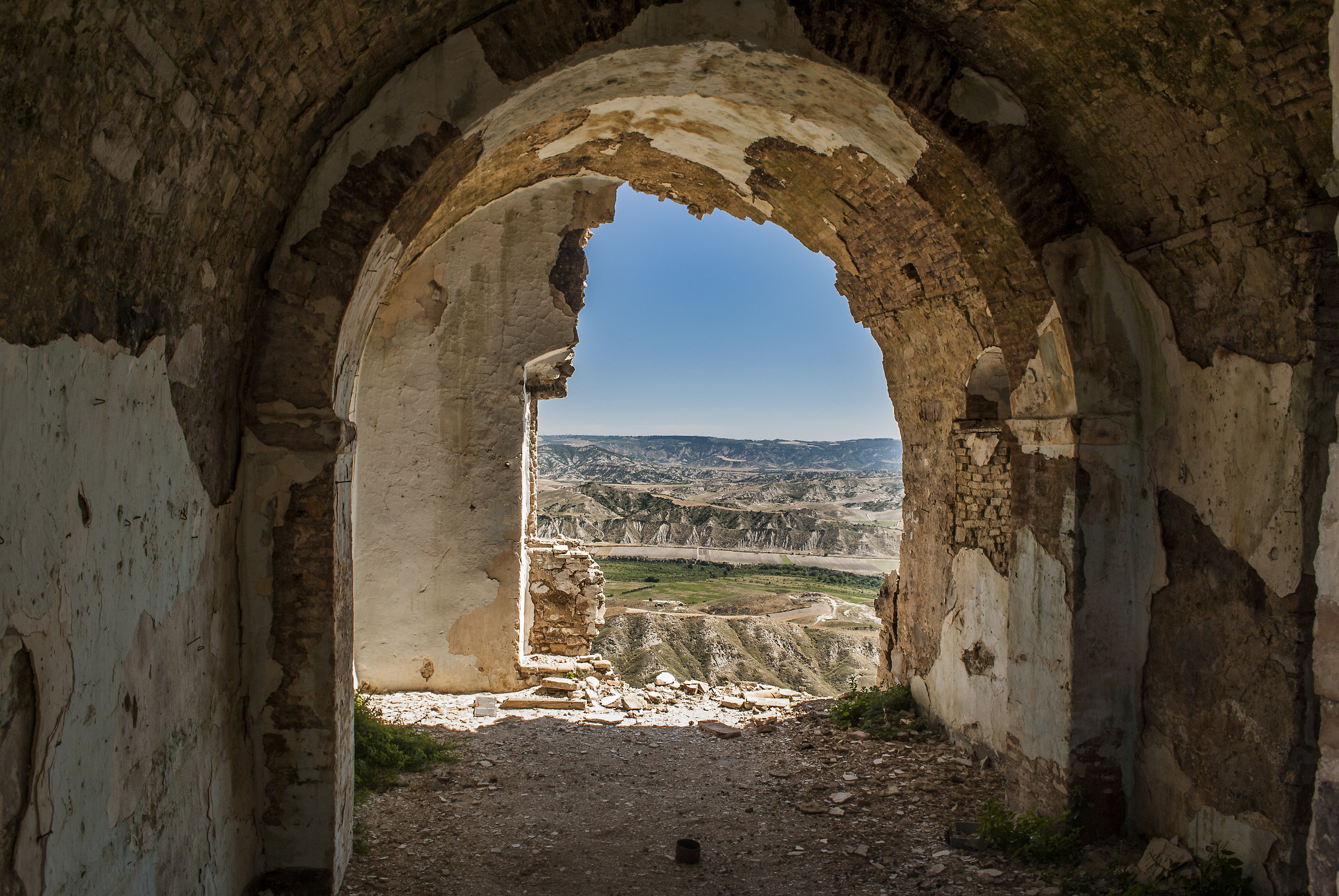 View from Craco...