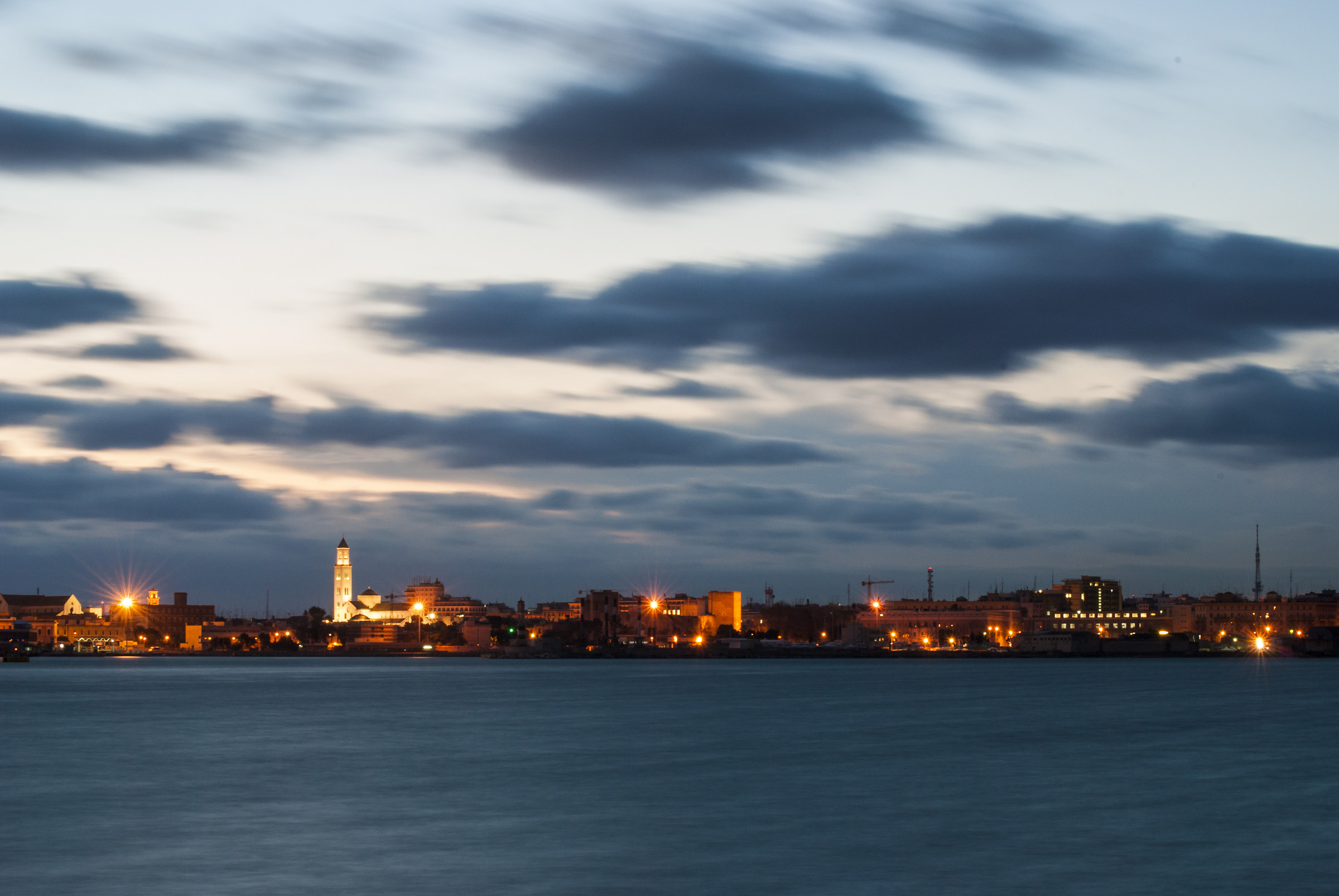 Sunset in Bari...