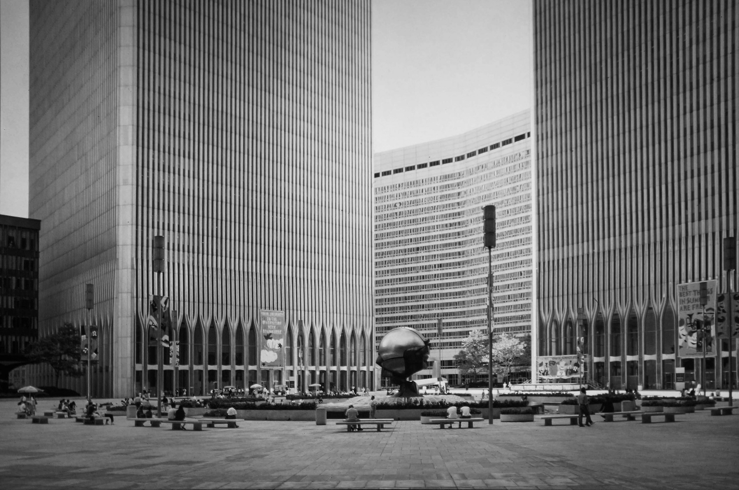 World Trade Center 3 - Monochrome...