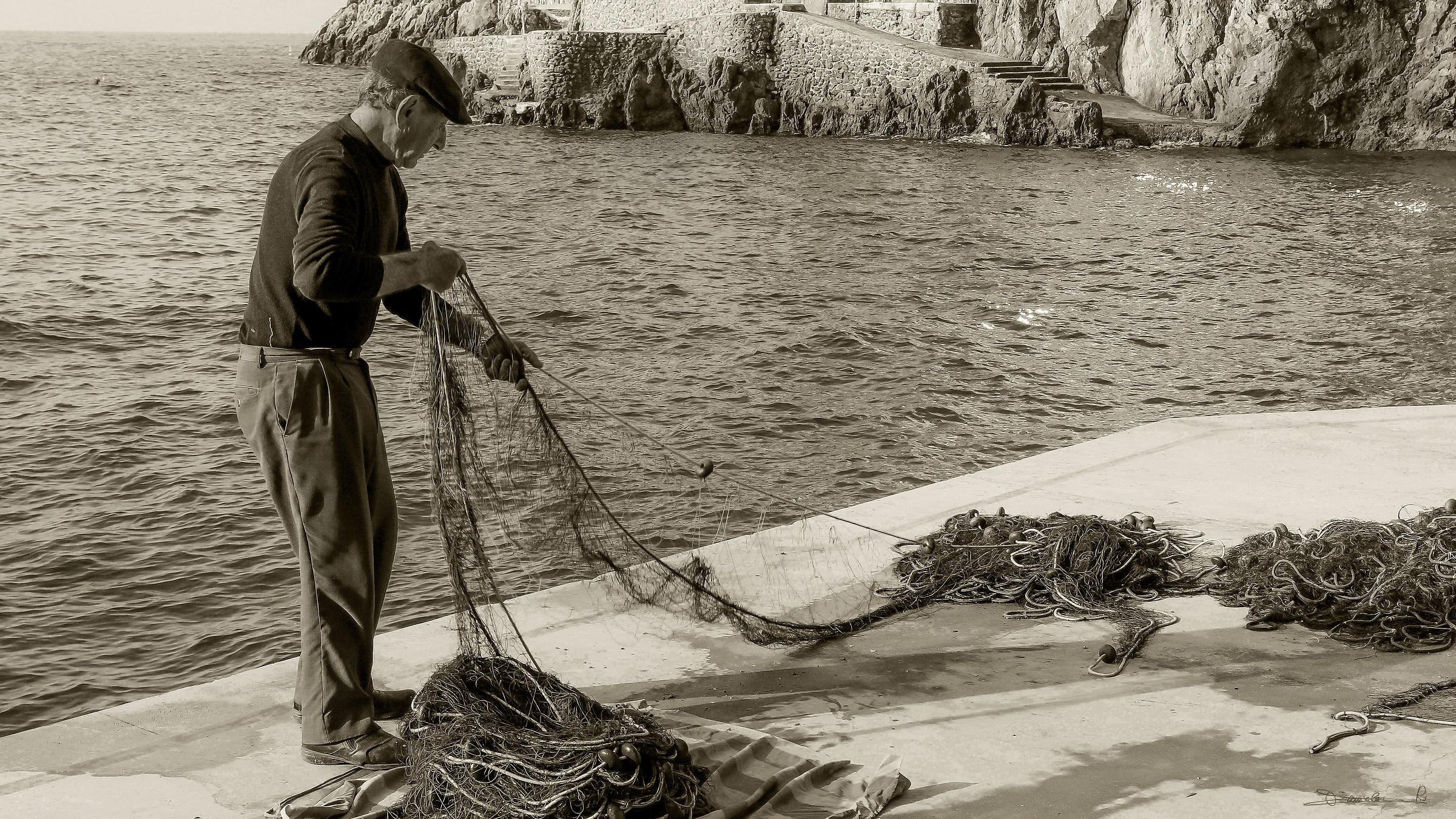 L'uomo e il mare...