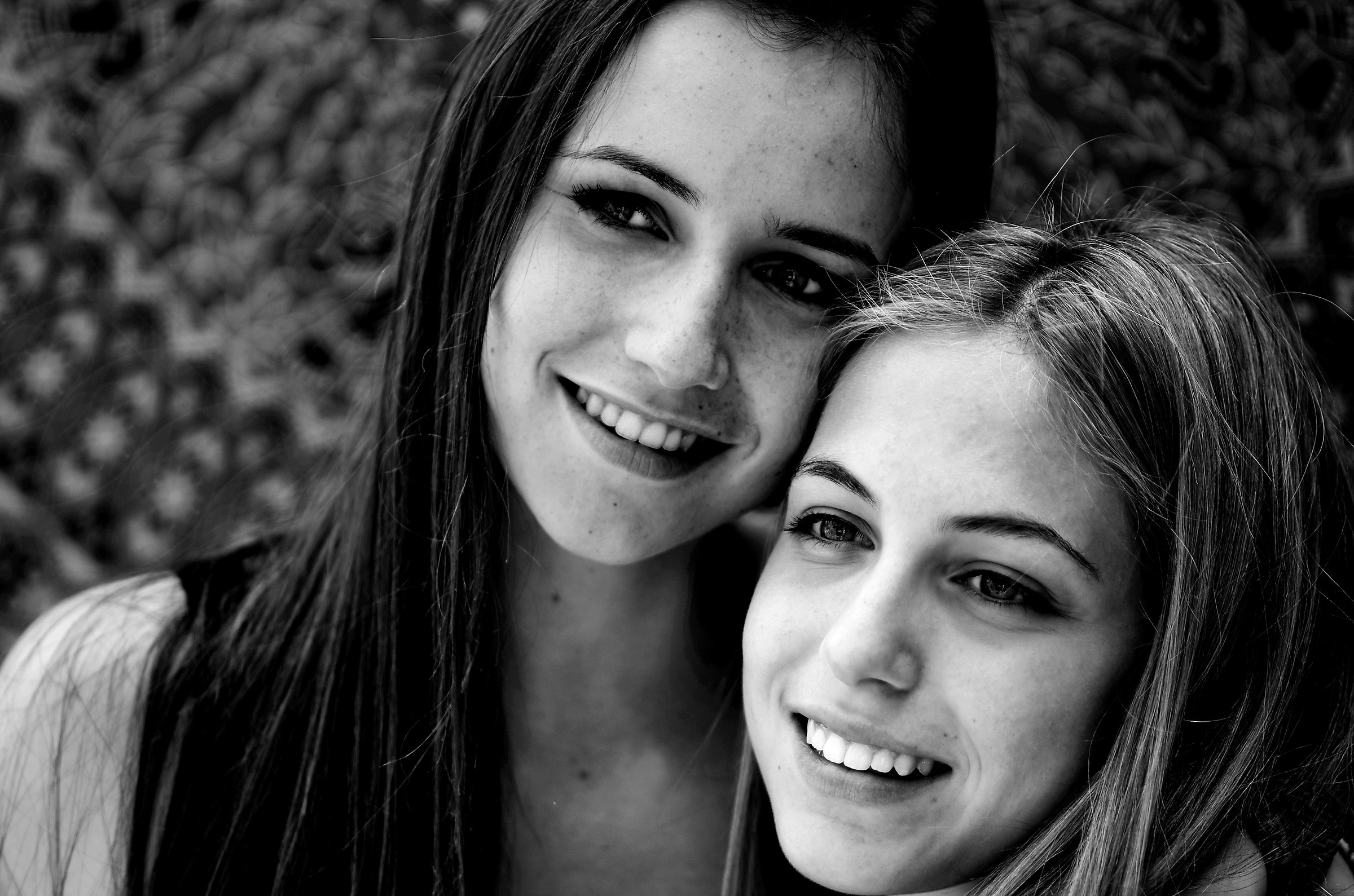 Smiles couple...