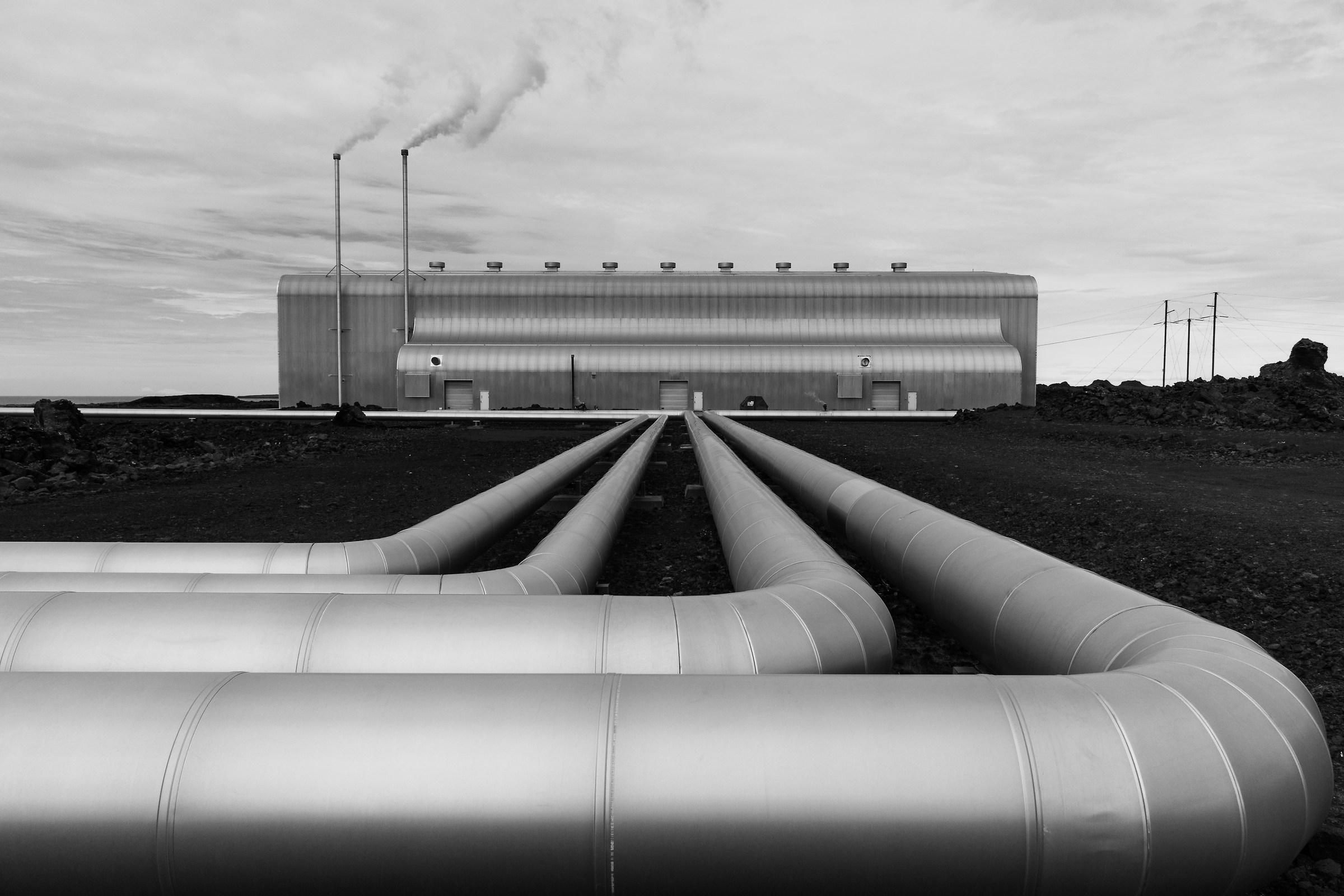 Geothermal power plant...