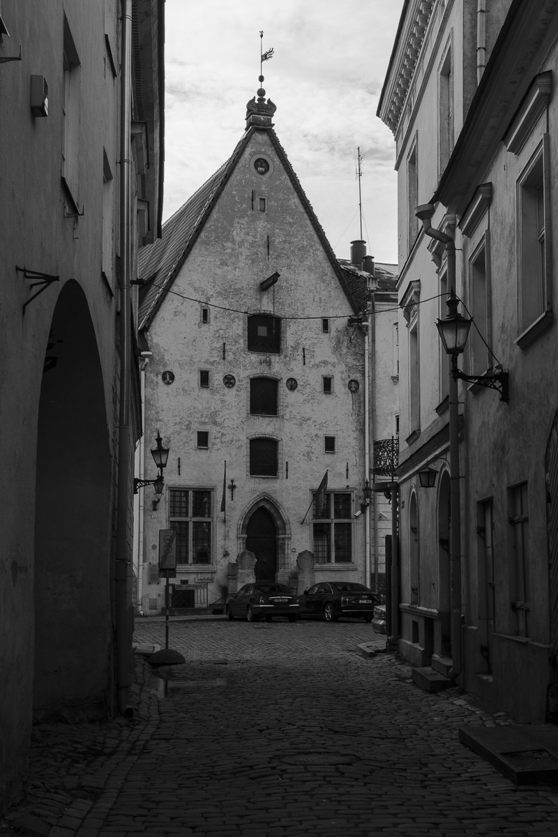 """Medieval house with """"carriages"""" modern..."""
