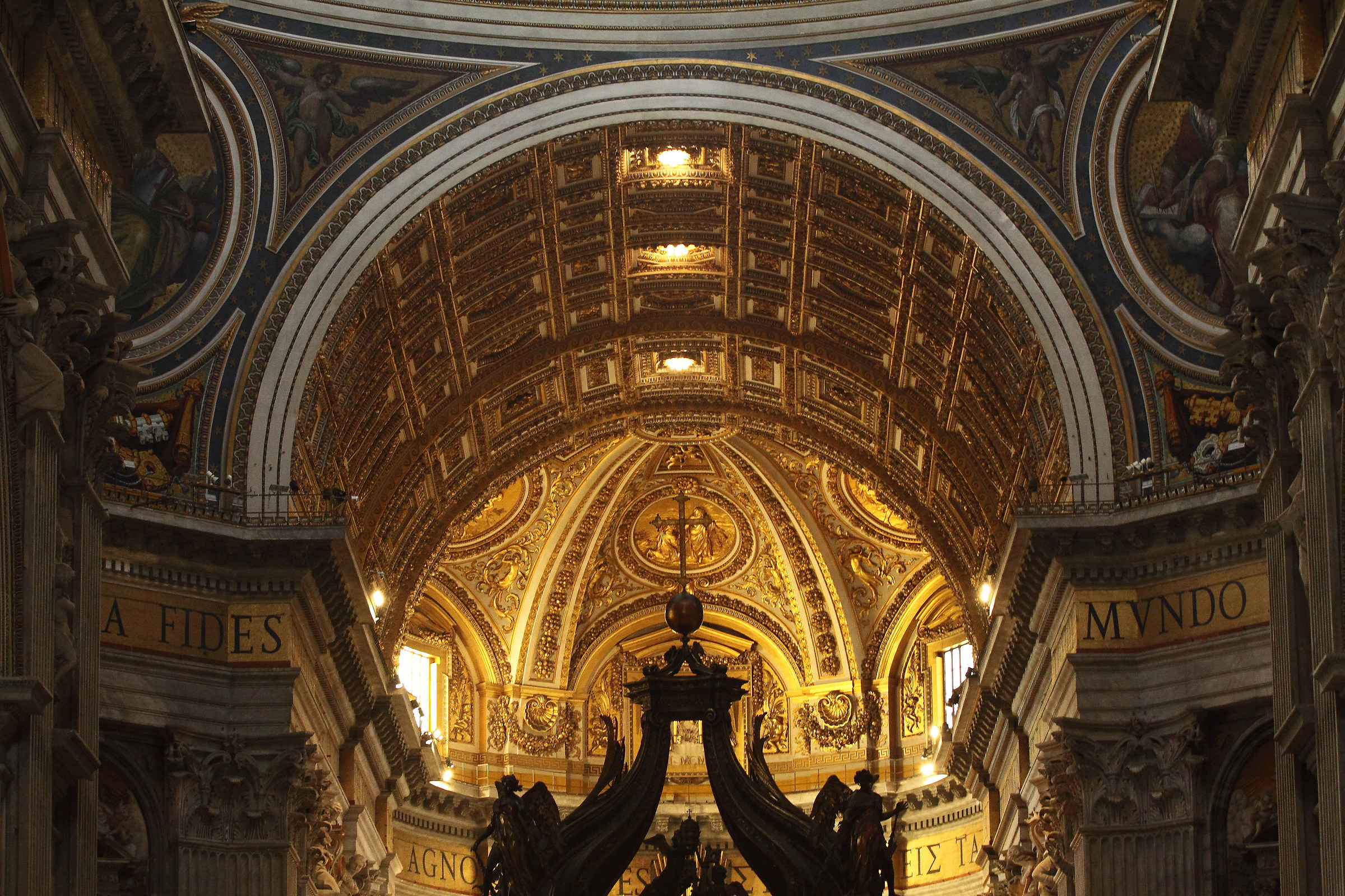 St. Peter's Basilica, interior...