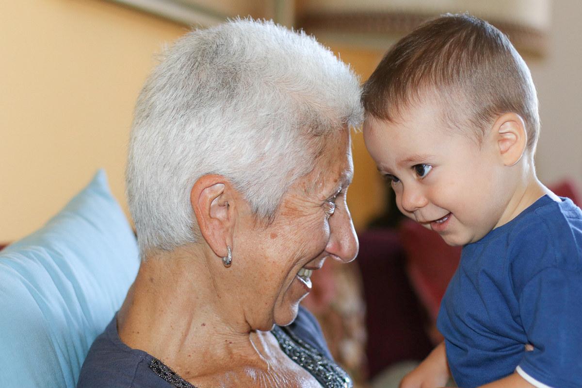 La nonna...