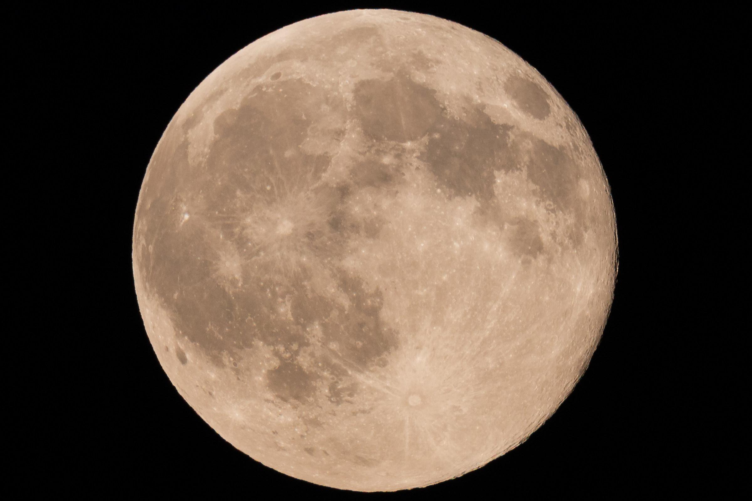 luna piena del 31/7/2015...