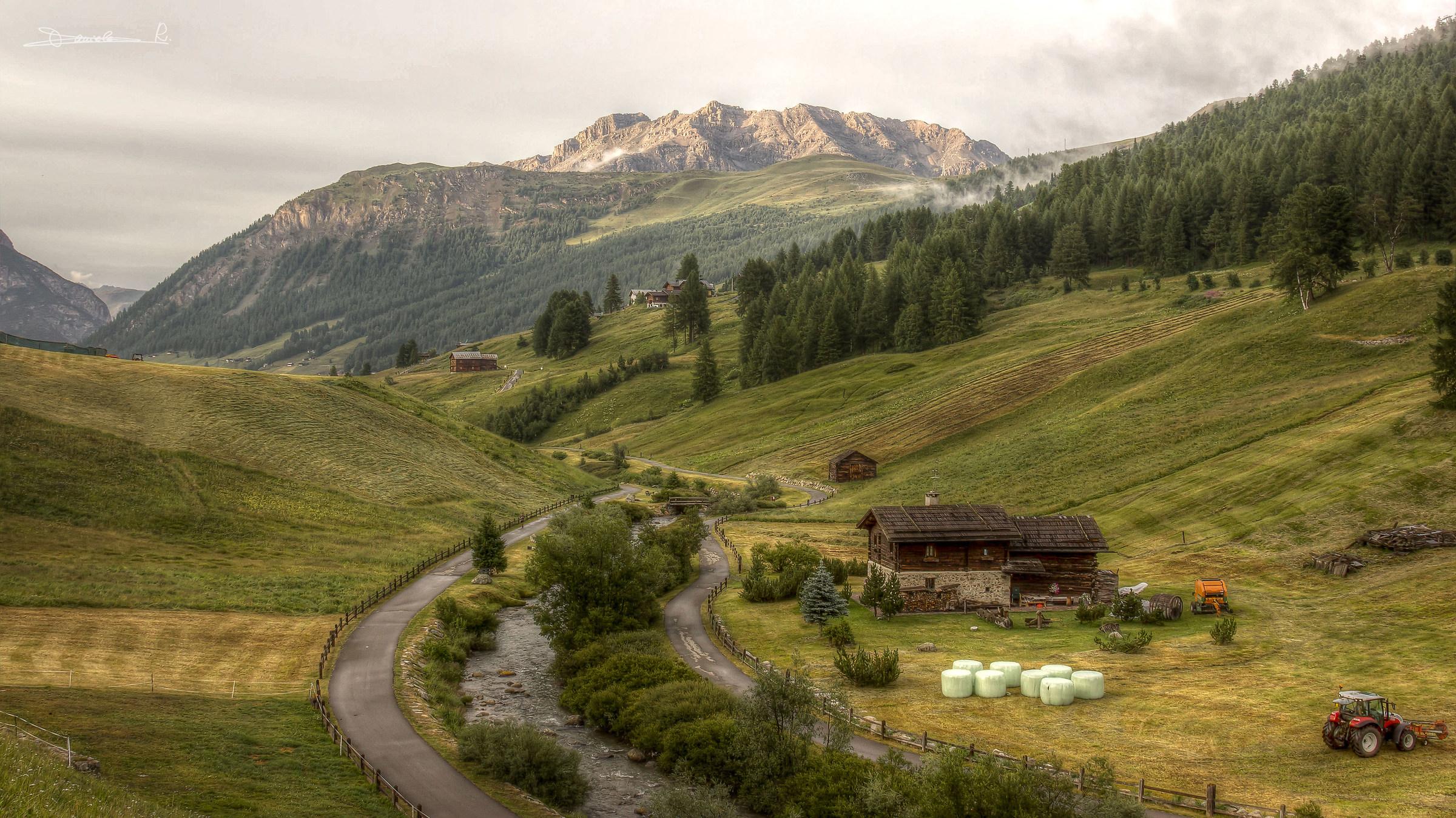 Paesaggio di Montagna...