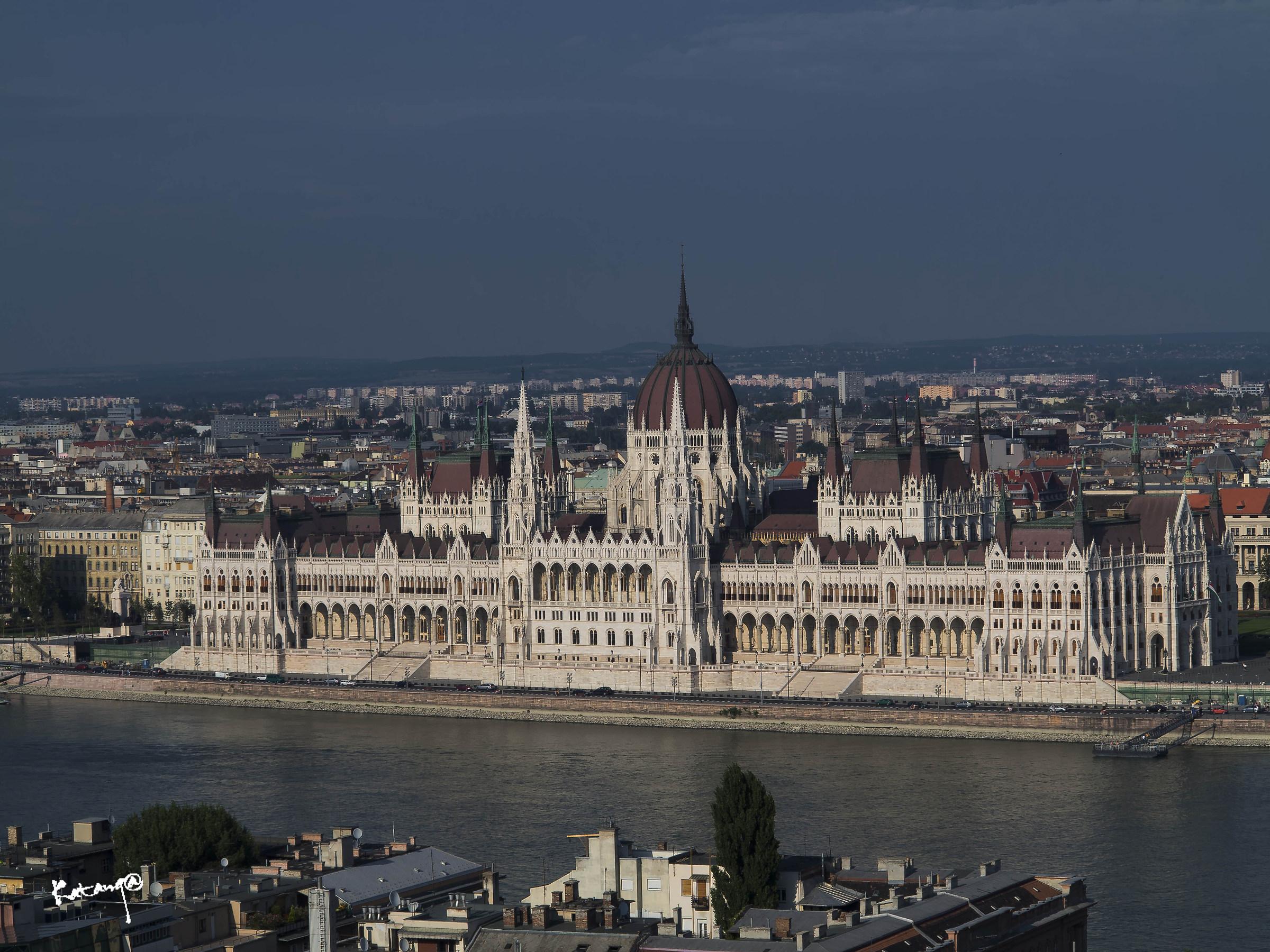 Budapest parliament...