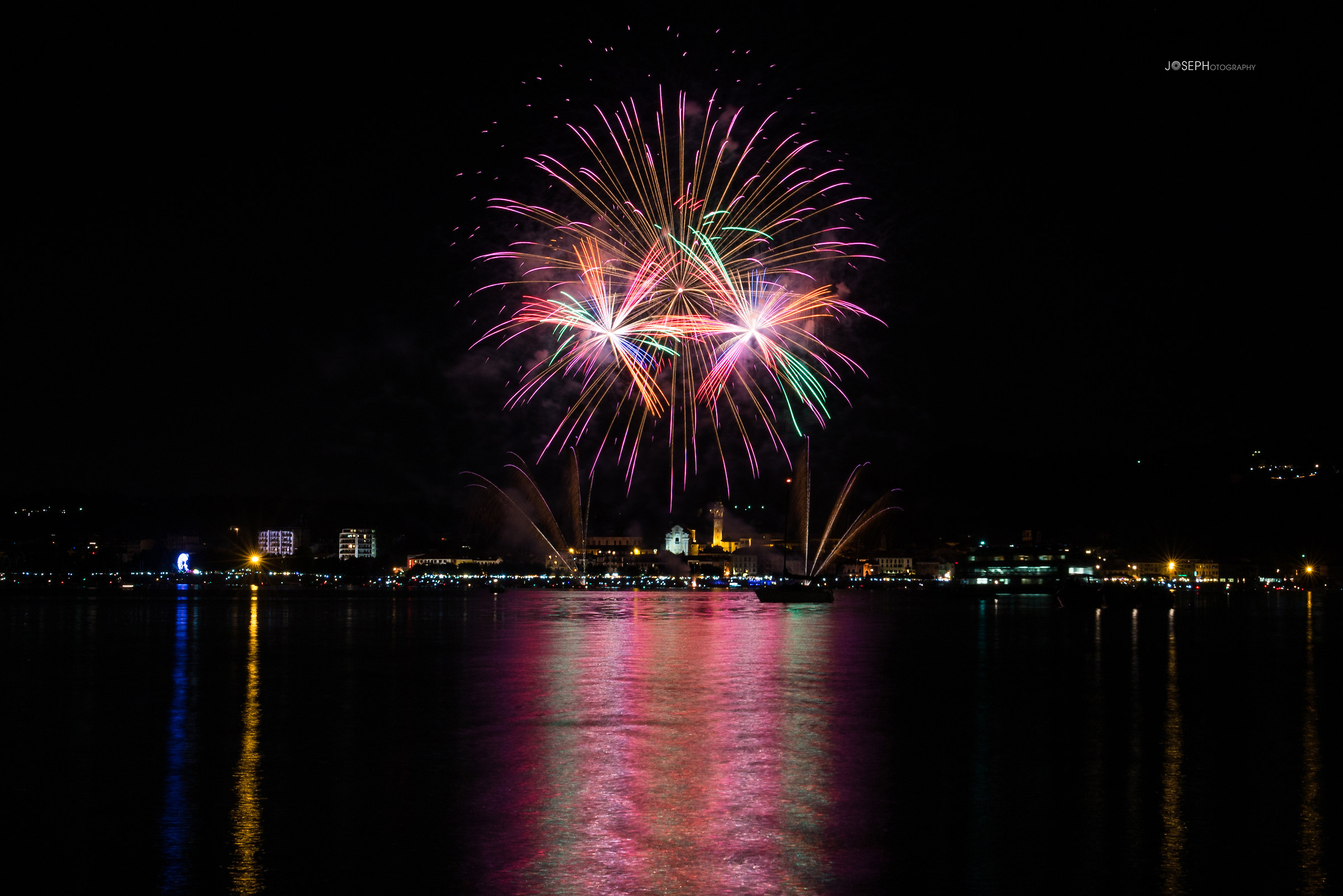 Dancing Fireworks...