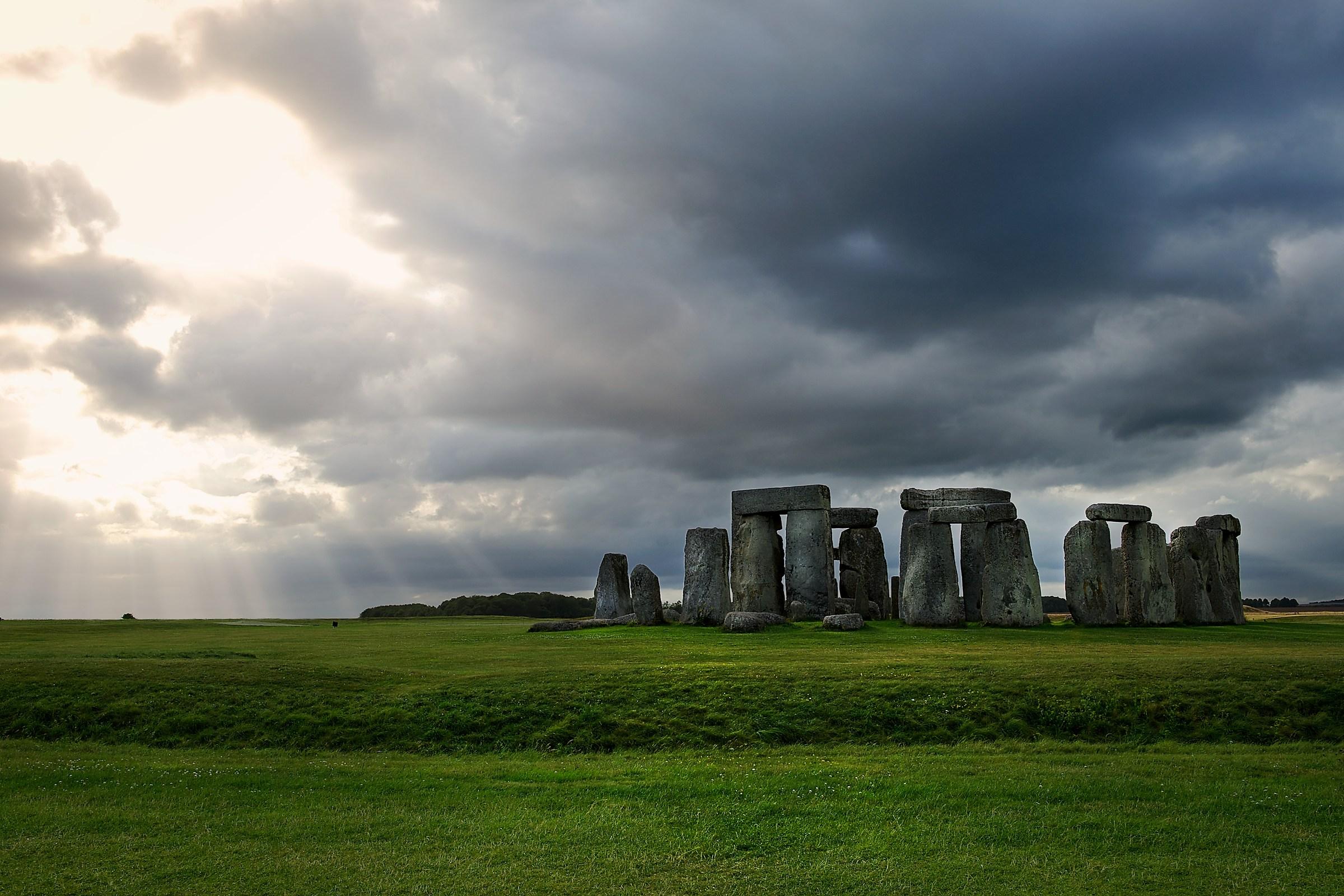 Stonehenge sunset...