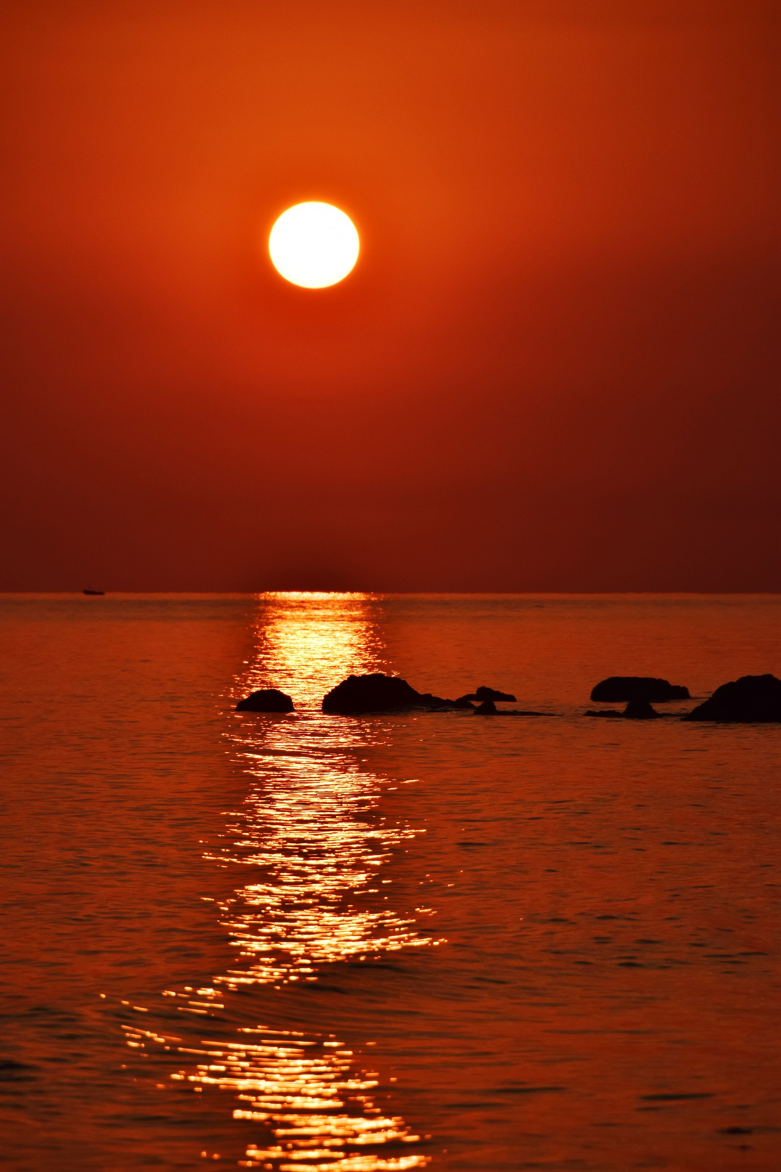 Sicilian sunset...
