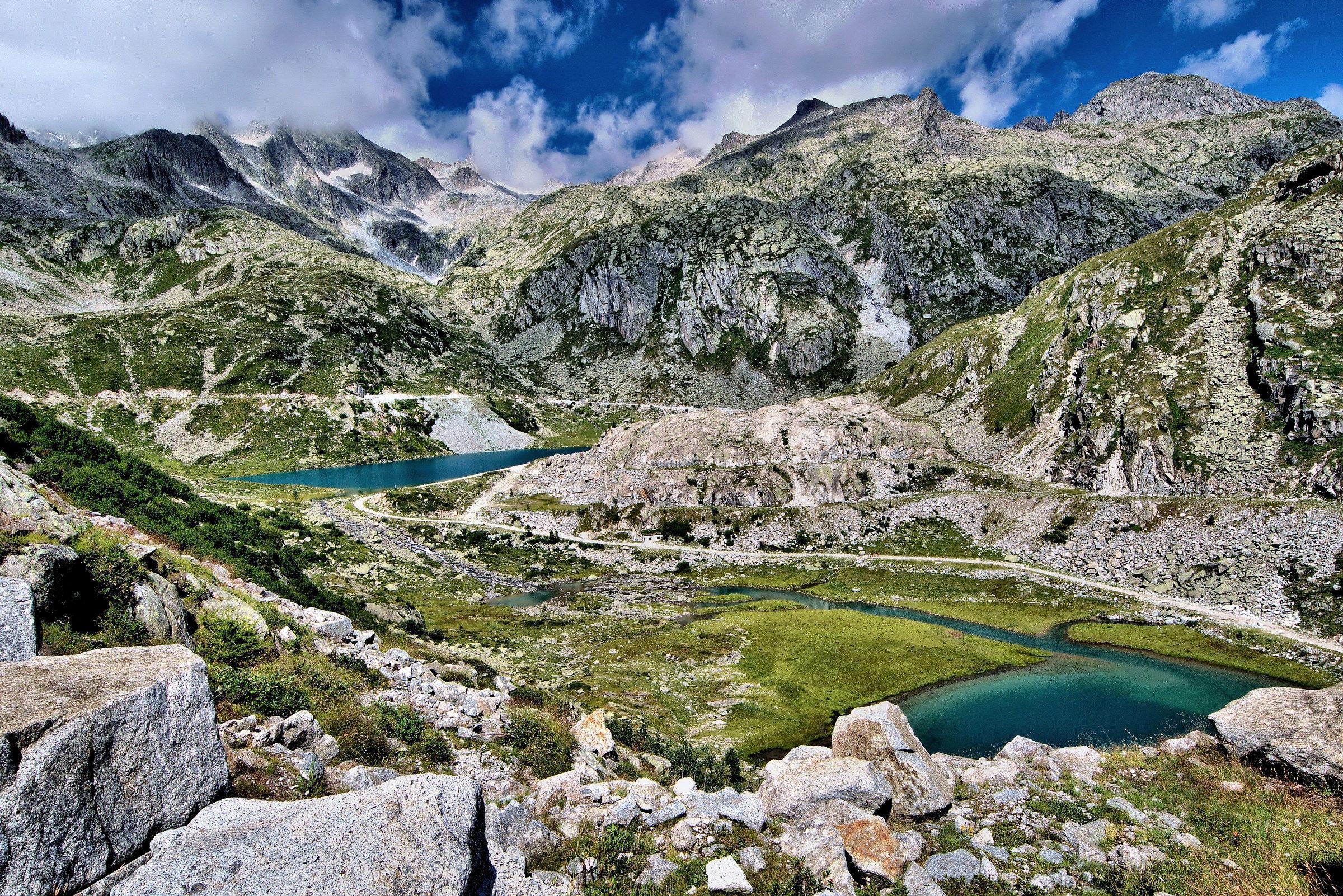 Adamello Brenta natural park...