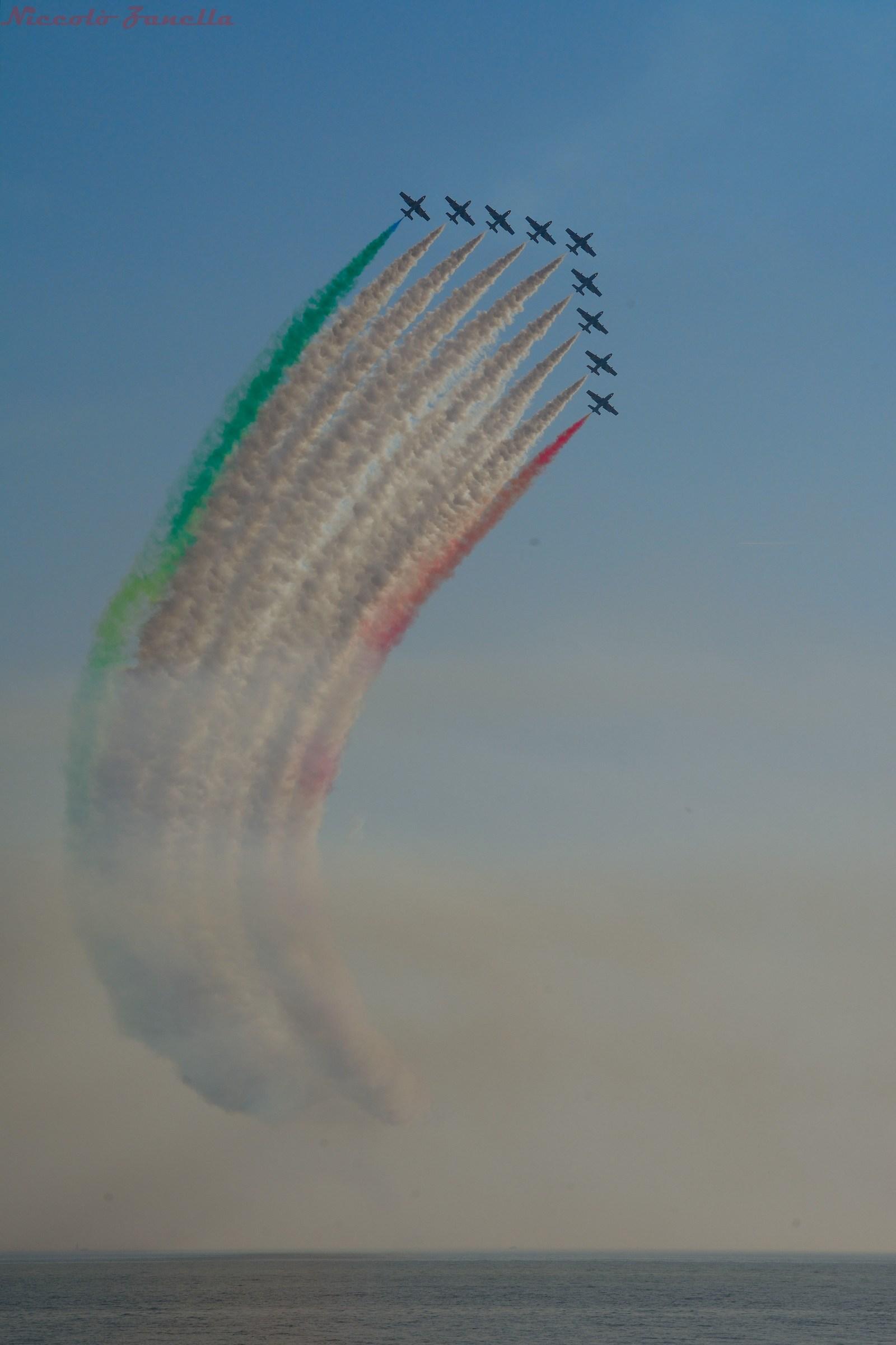 The tricolor...