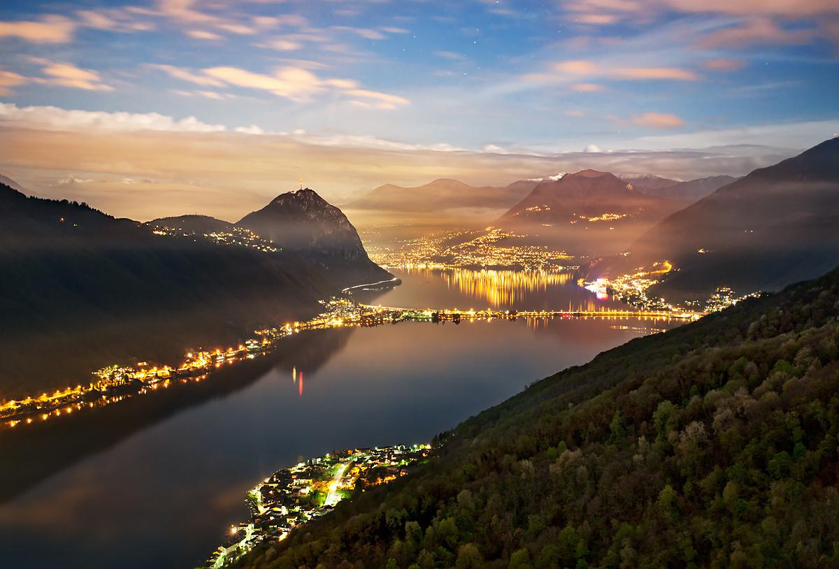 Lake Lugano...