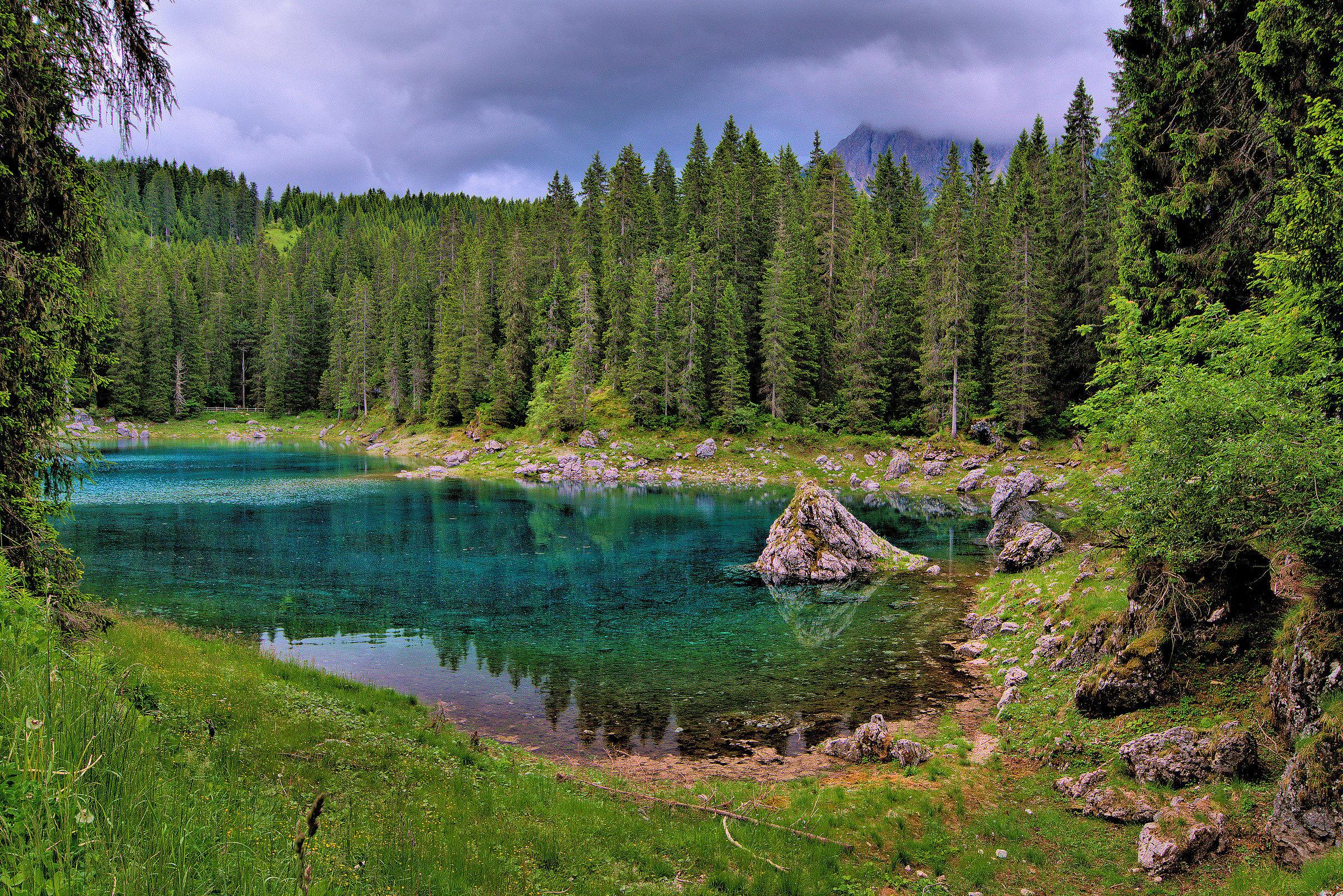 Lake caress...