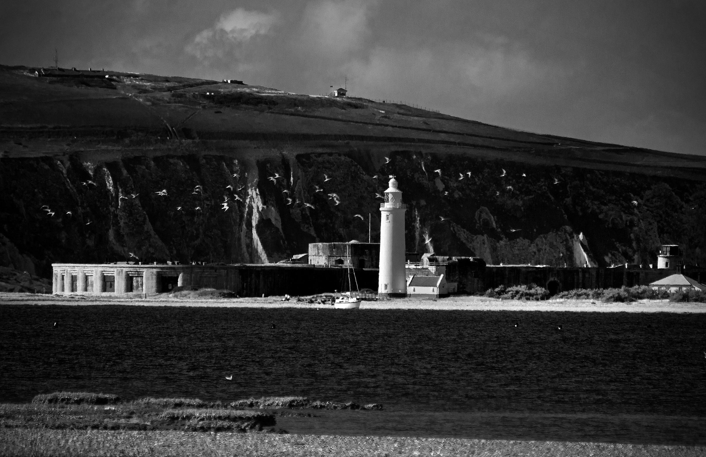 Hurst Castle e Faro...