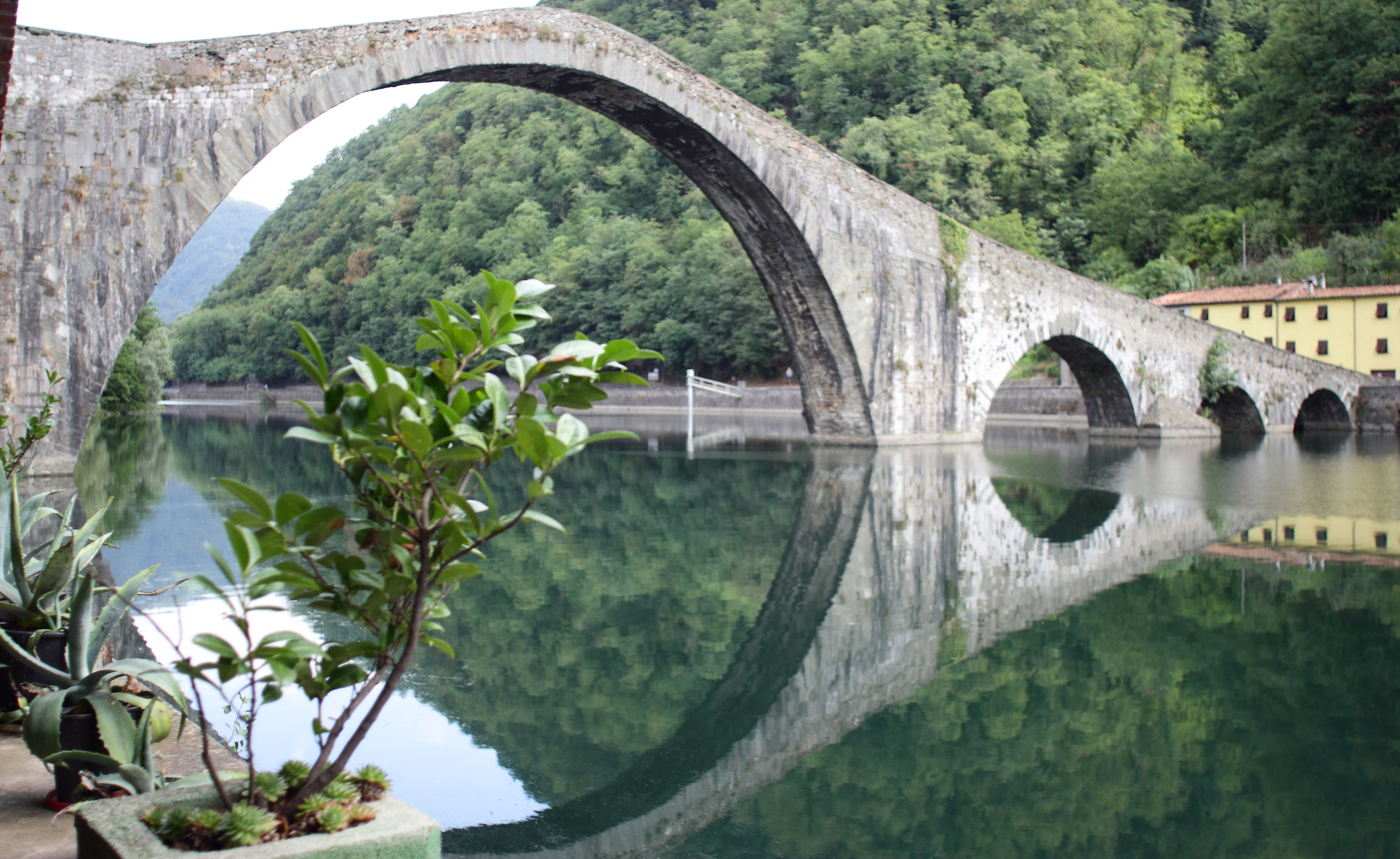 The Devil's Bridge in Garfagnana...