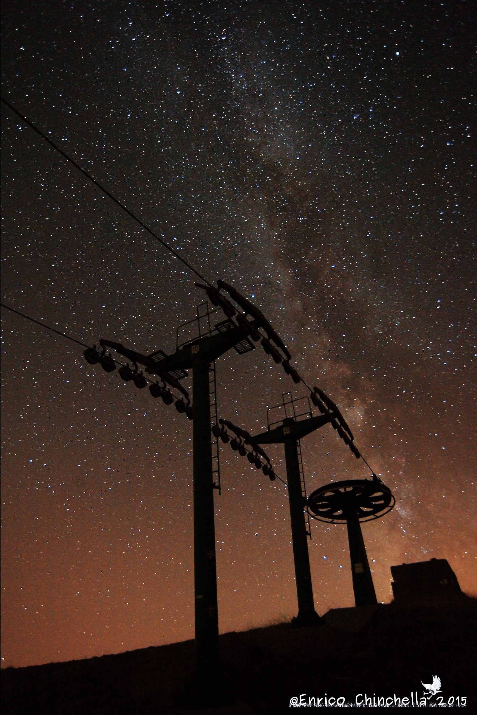 Chairlift Saccarello...