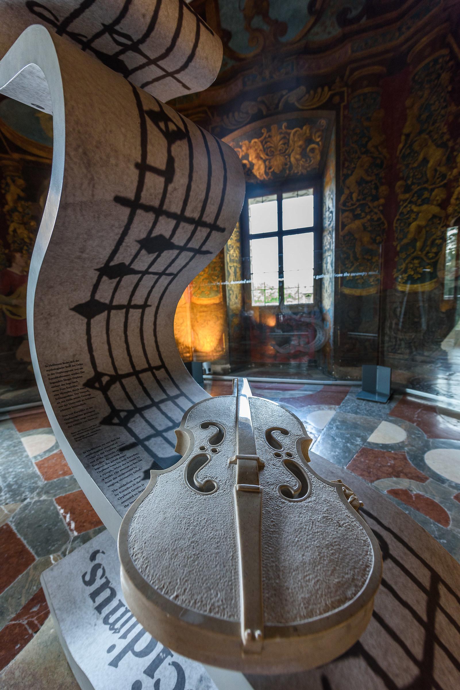Salzburg - Hellbrunn Palace...