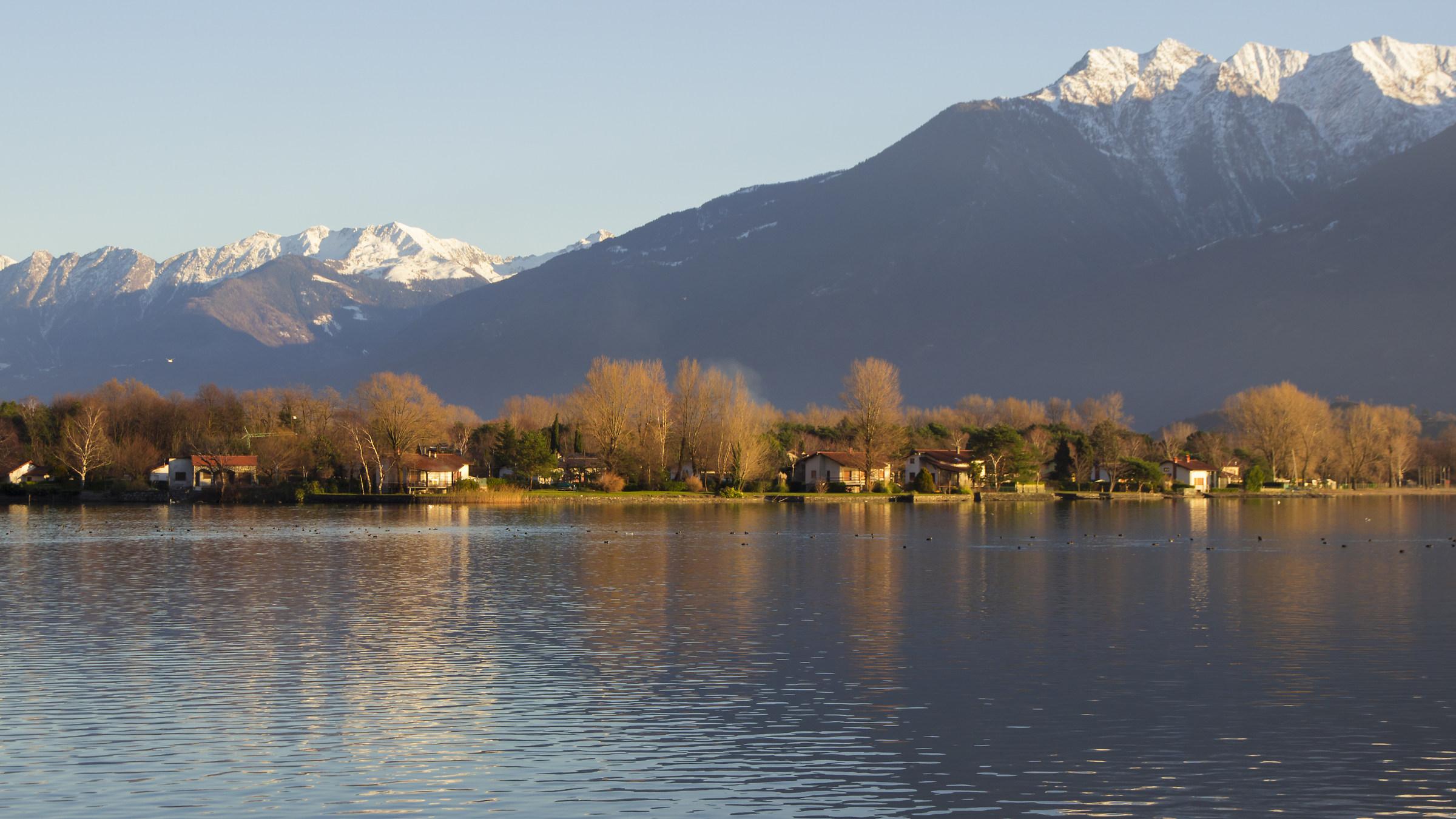 Lake Mezzola...