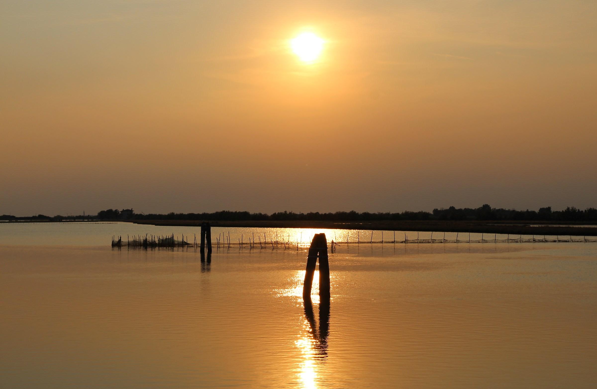 Venetian Lagoon - Treporti...