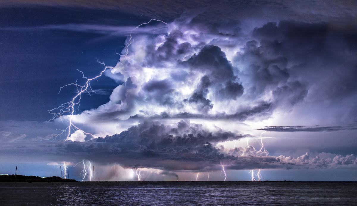 Night storm...